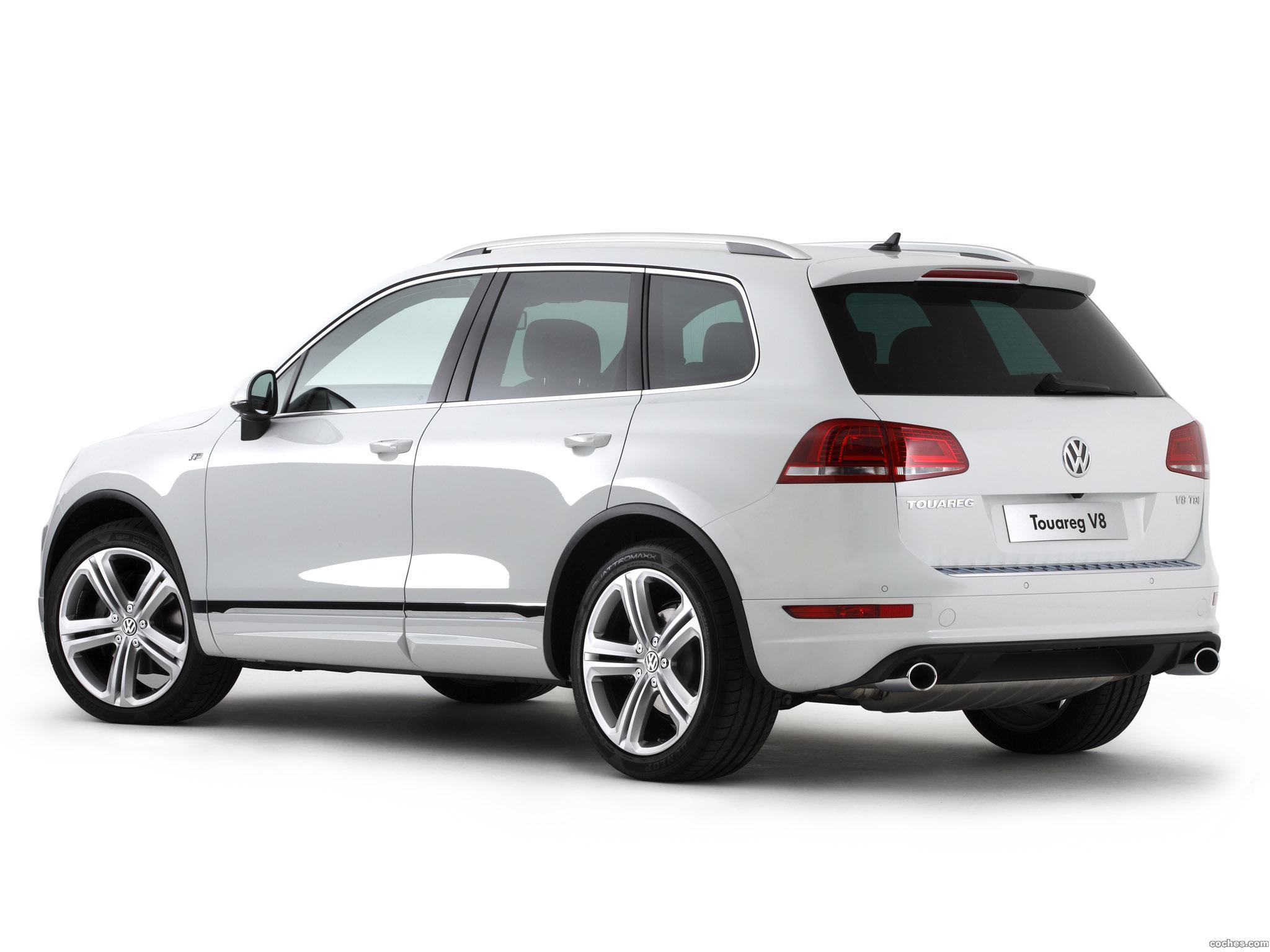 Foto 4 de Volkswagen Touareg V8 TDI R-Line Australia  2014