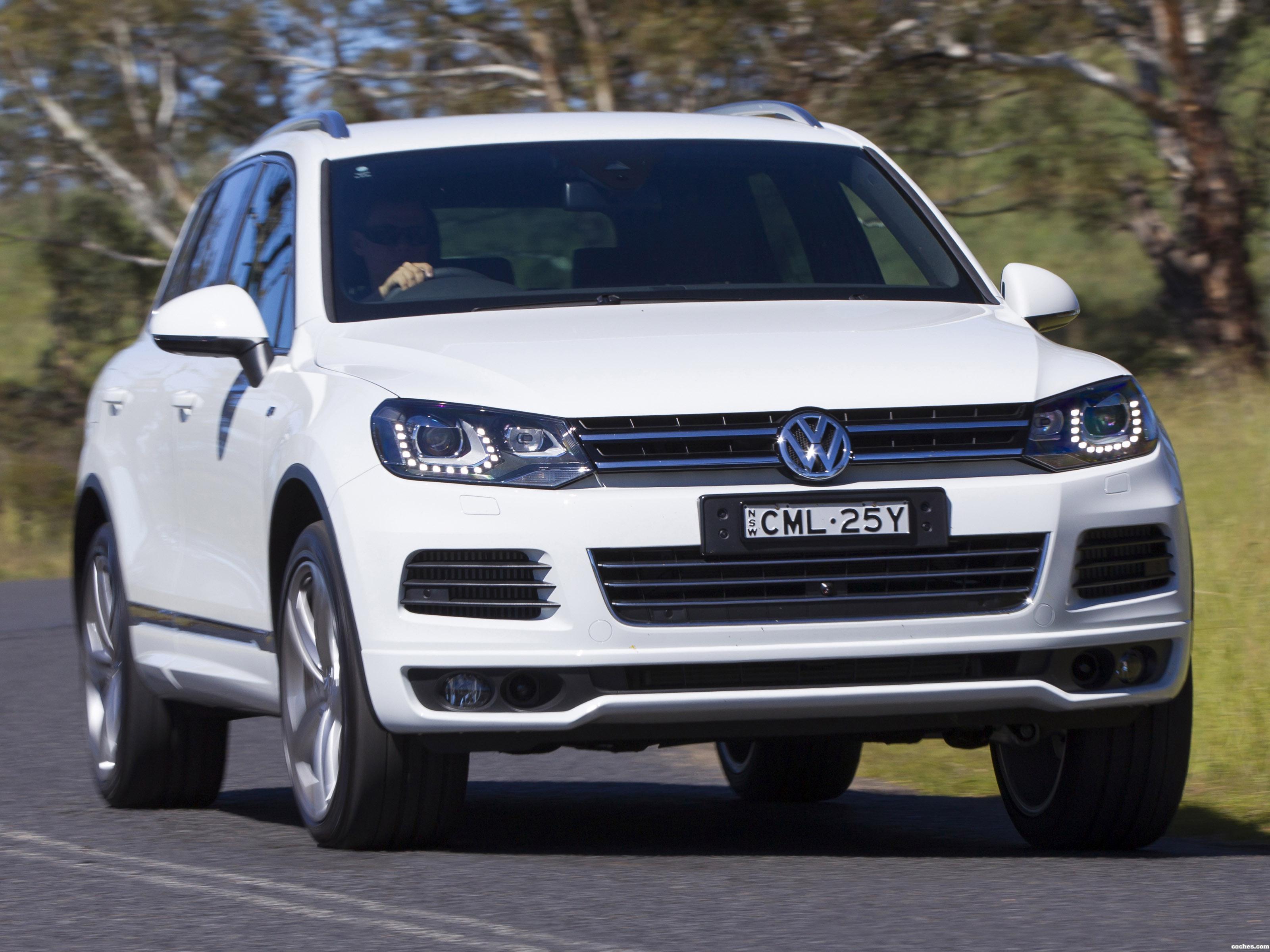 Foto 0 de Volkswagen Touareg V8 TDI R-Line Australia  2014