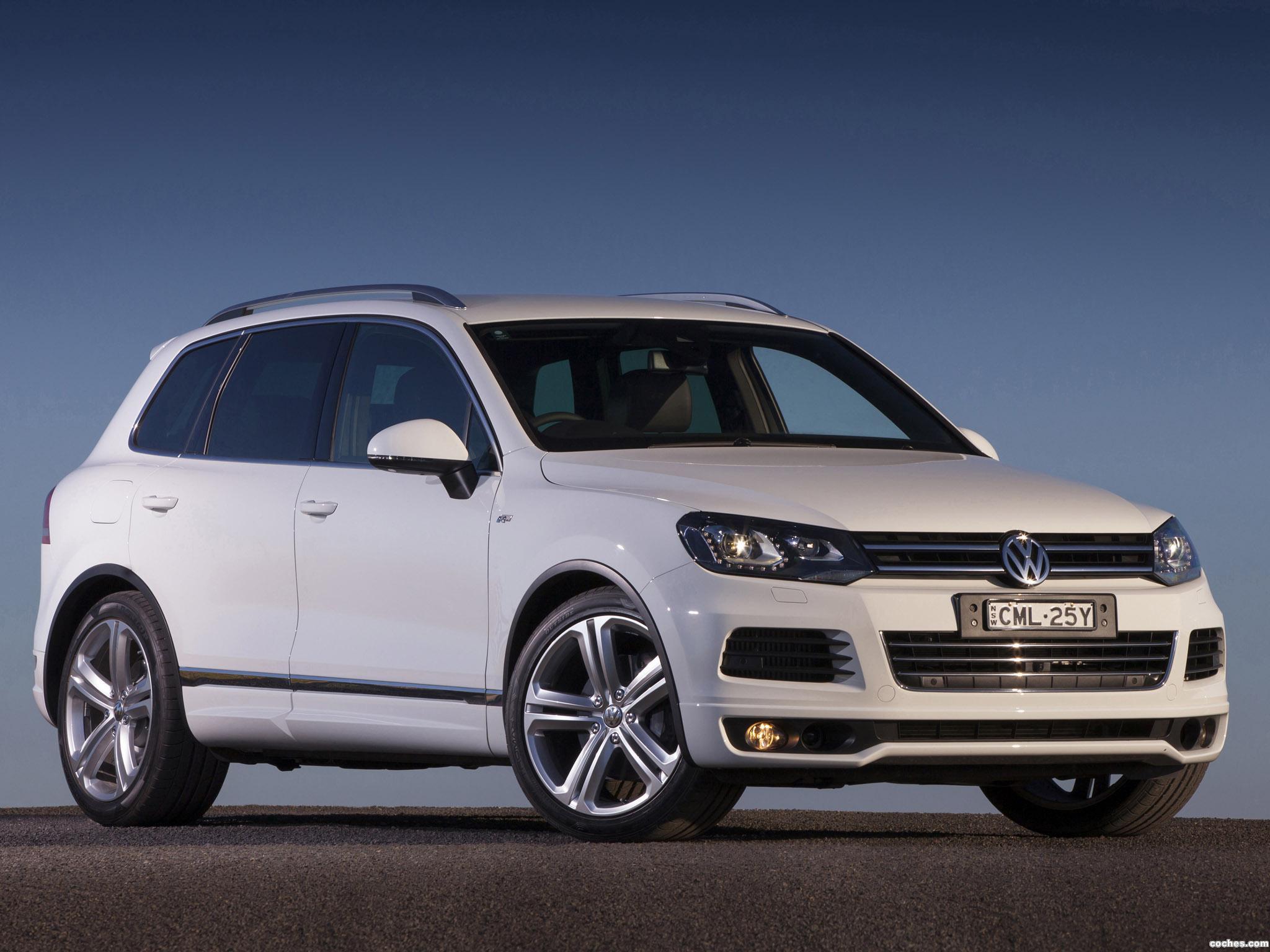 Foto 13 de Volkswagen Touareg V8 TDI R-Line Australia  2014
