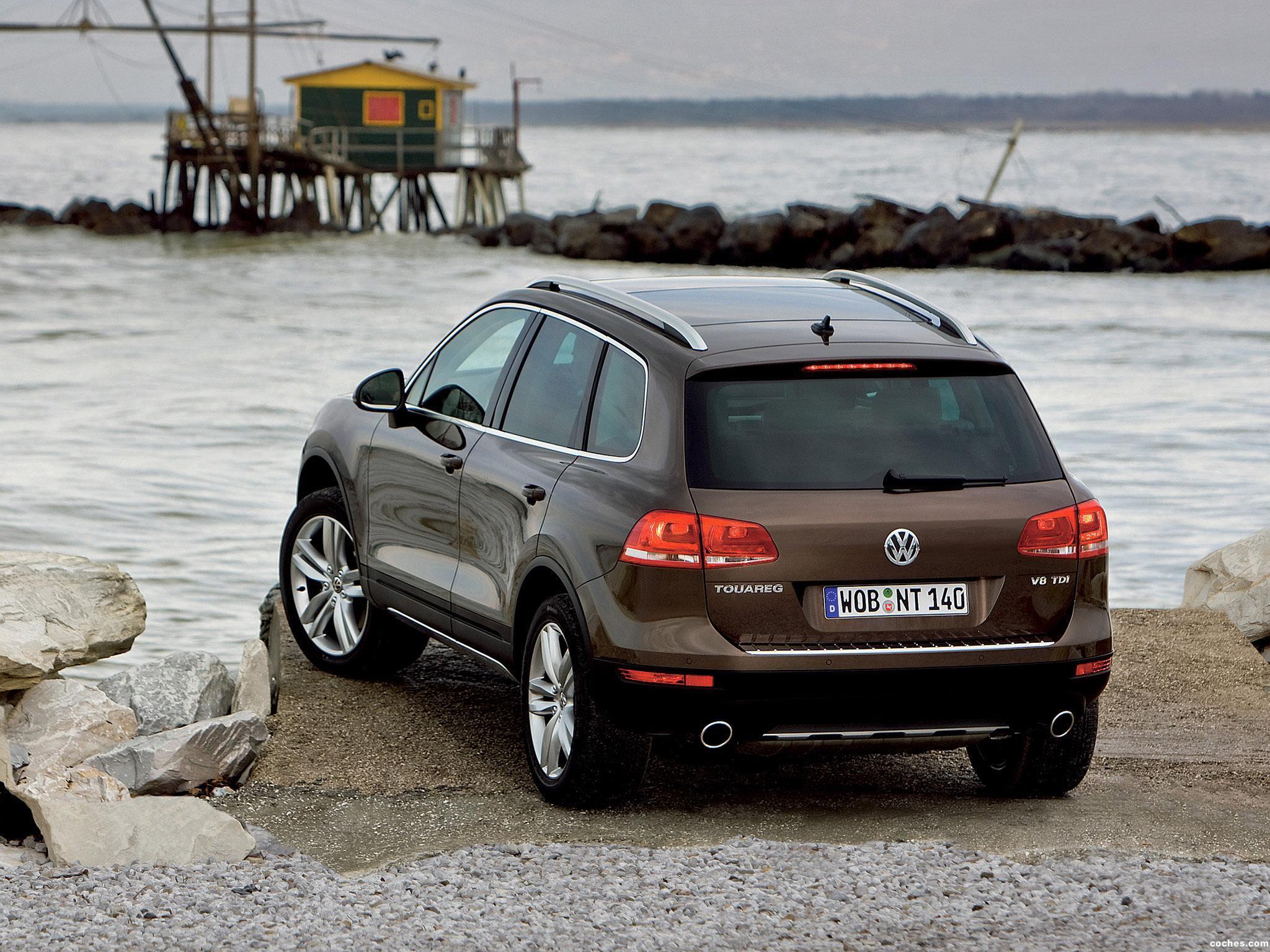 Foto 12 de Volkswagen Touareg V8 TDi 2010