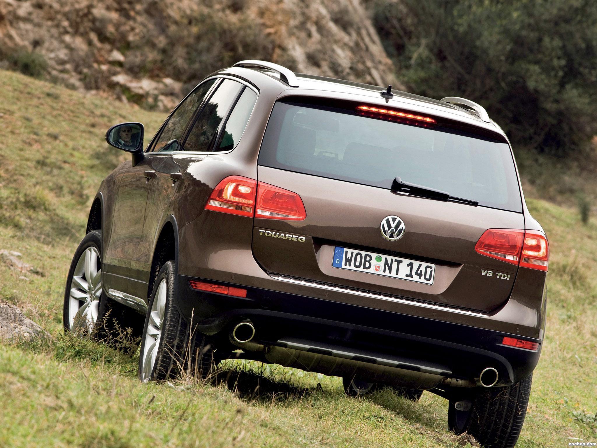 Foto 10 de Volkswagen Touareg V8 TDi 2010