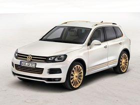Ver foto 2 de Volkswagen Touareg V8 TDi Gold Edition Concept 2011