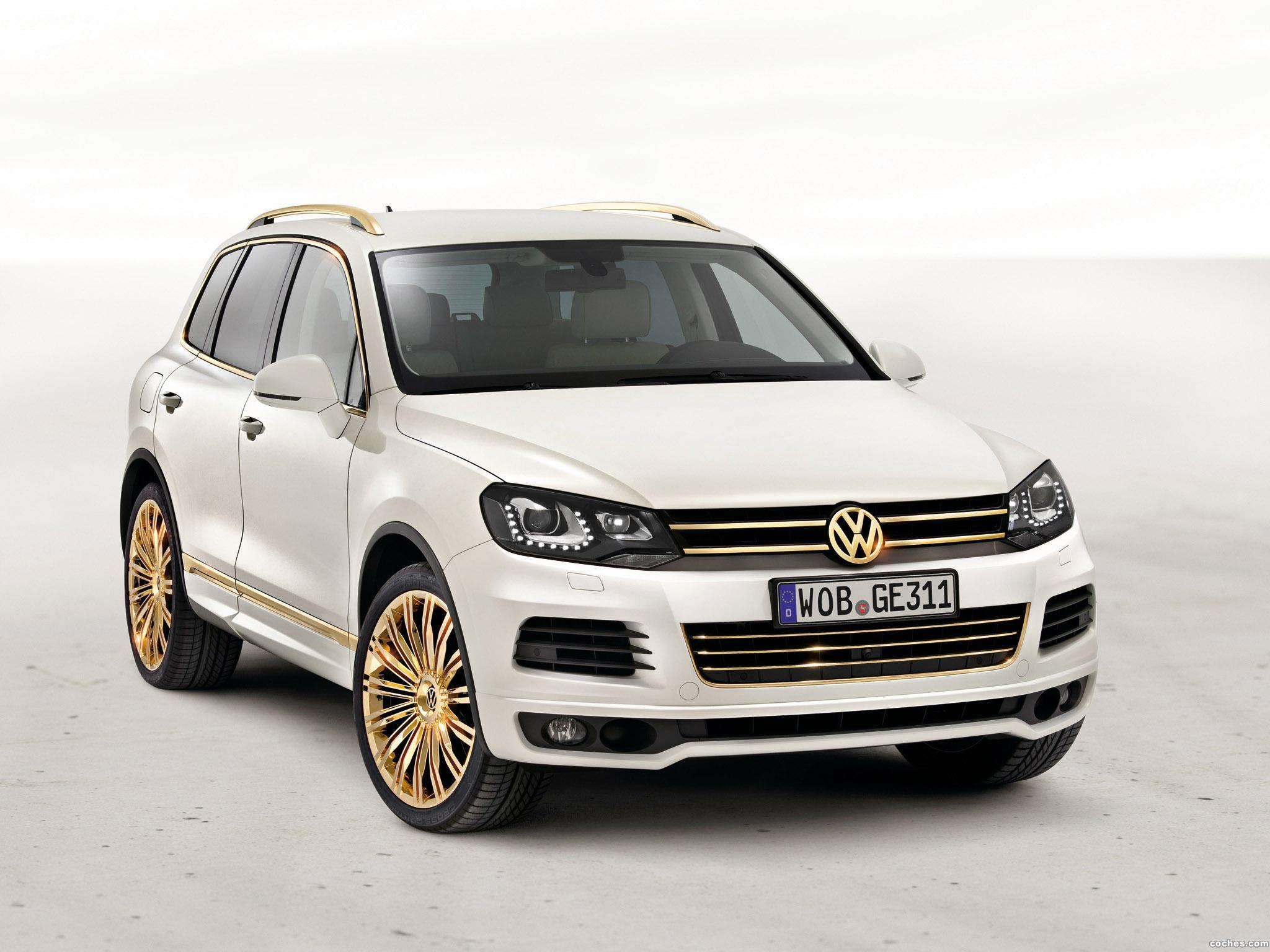 Foto 0 de Volkswagen Touareg V8 TDi Gold Edition Concept 2011
