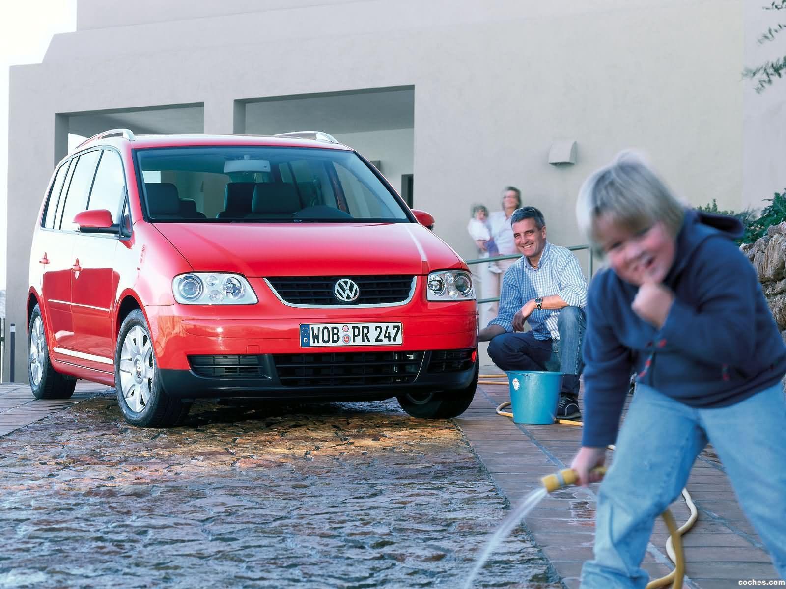 Foto 23 de Volkswagen Touran 2003