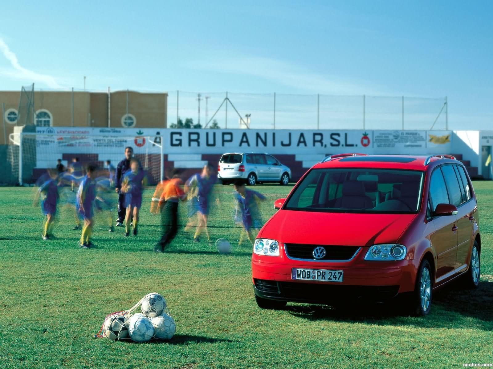 Foto 22 de Volkswagen Touran 2003