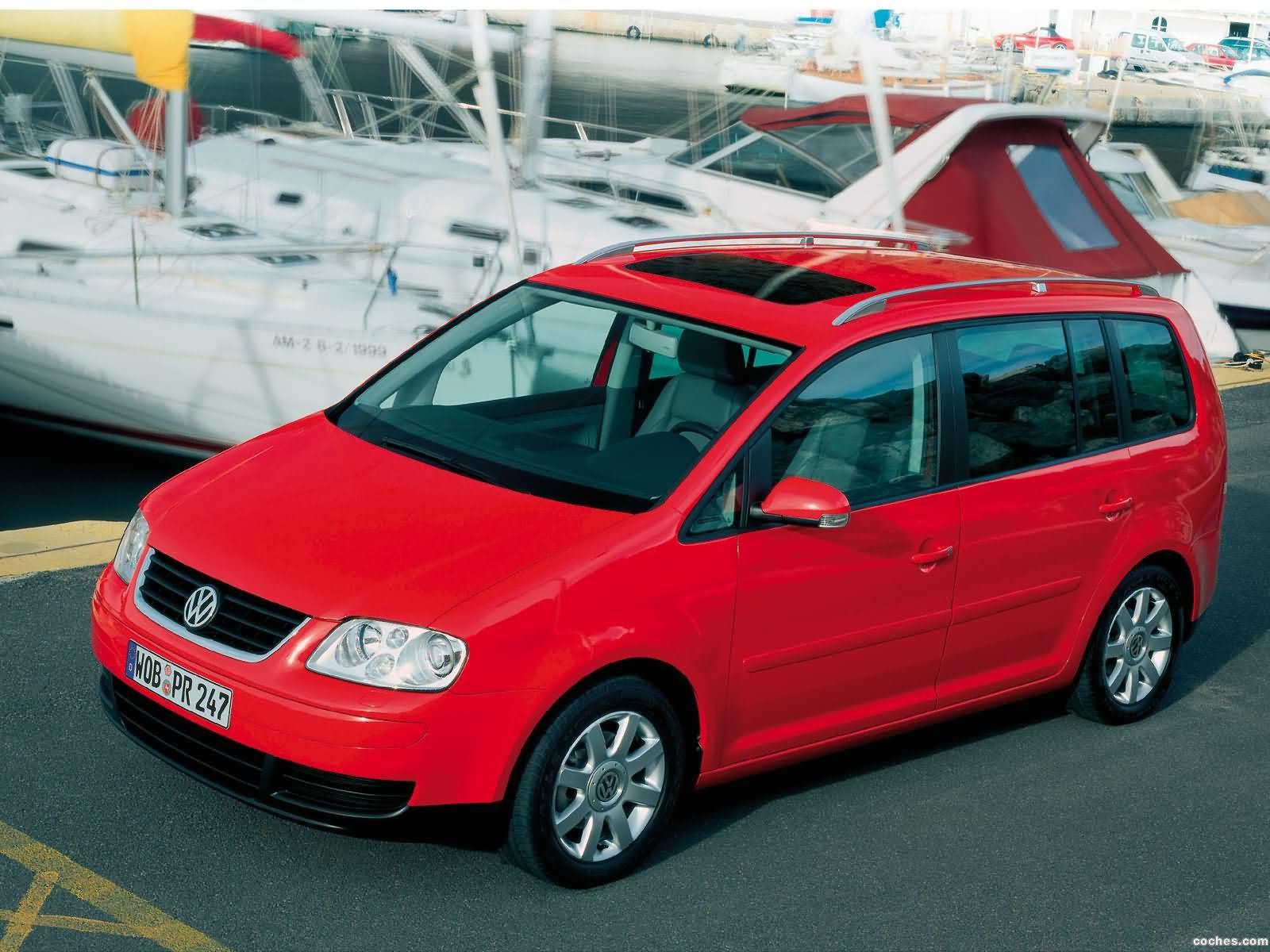 Foto 27 de Volkswagen Touran 2003