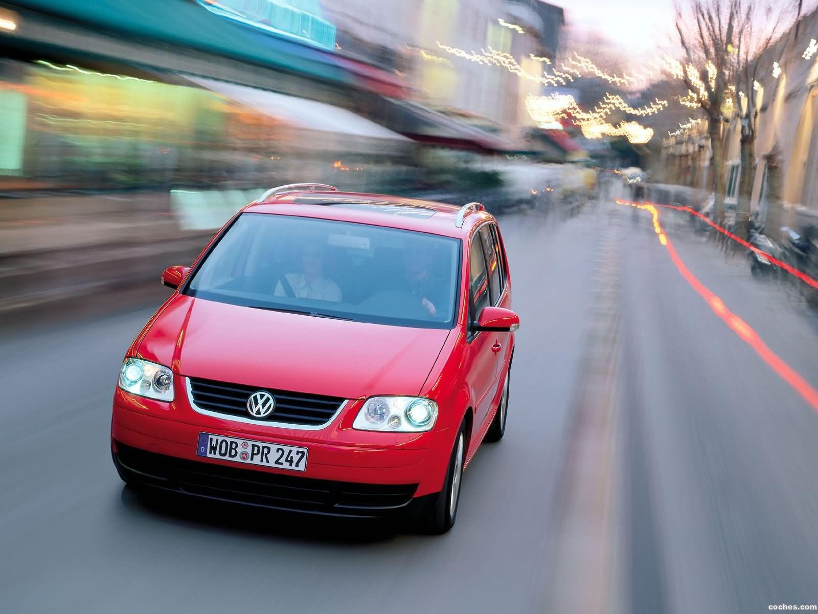 Foto 26 de Volkswagen Touran 2003