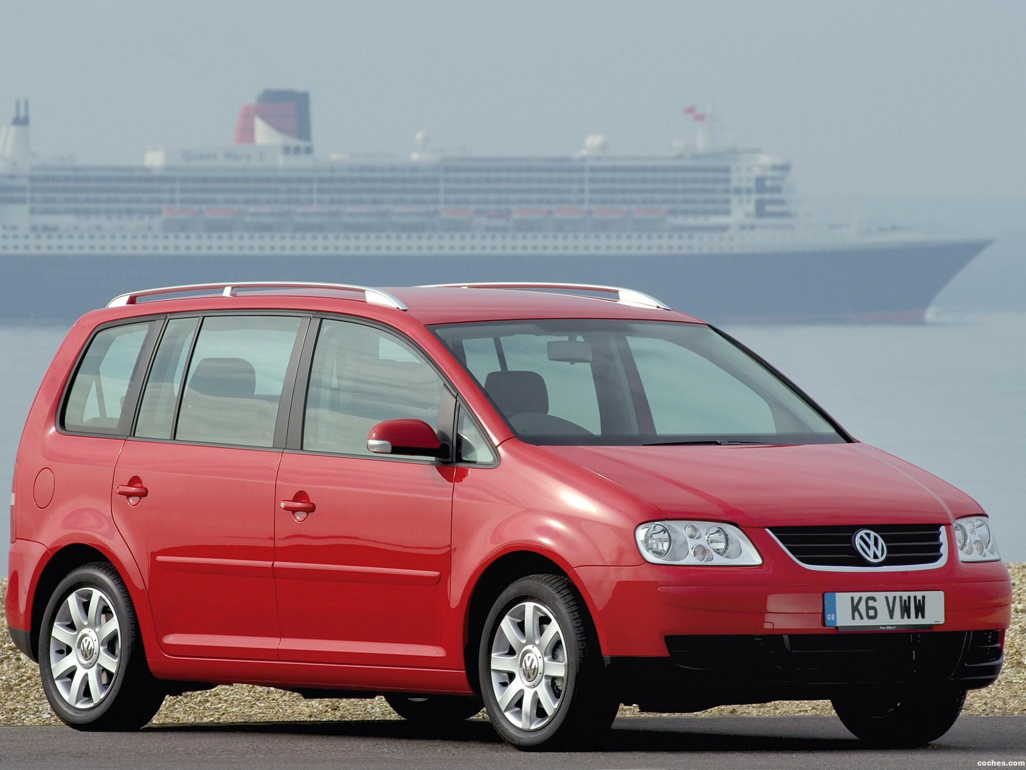 Foto 2 de Volkswagen Touran 2003