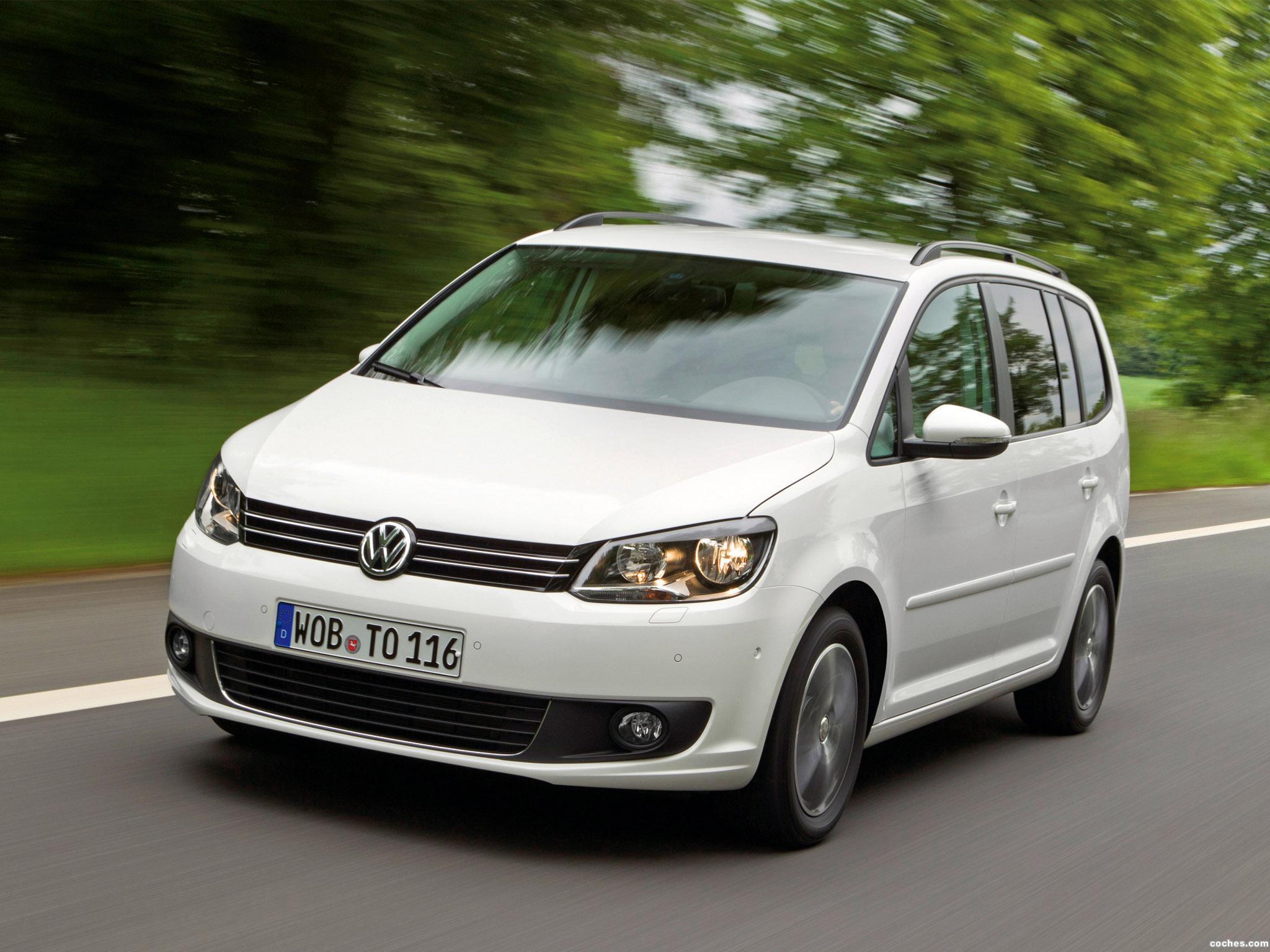 Foto 3 de Volkswagen Touran BlueMotion 2010