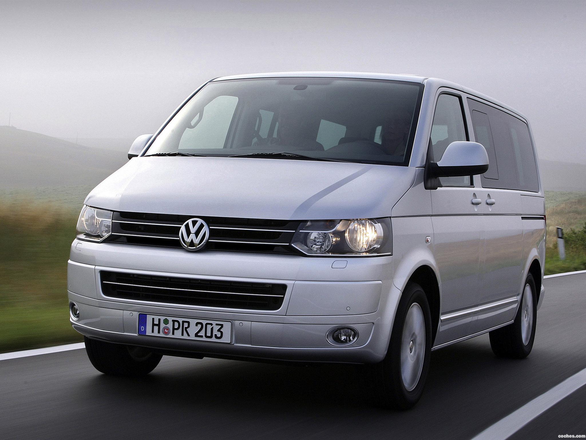 Foto 3 de Volkswagen Transporter T5 Facelift 2009
