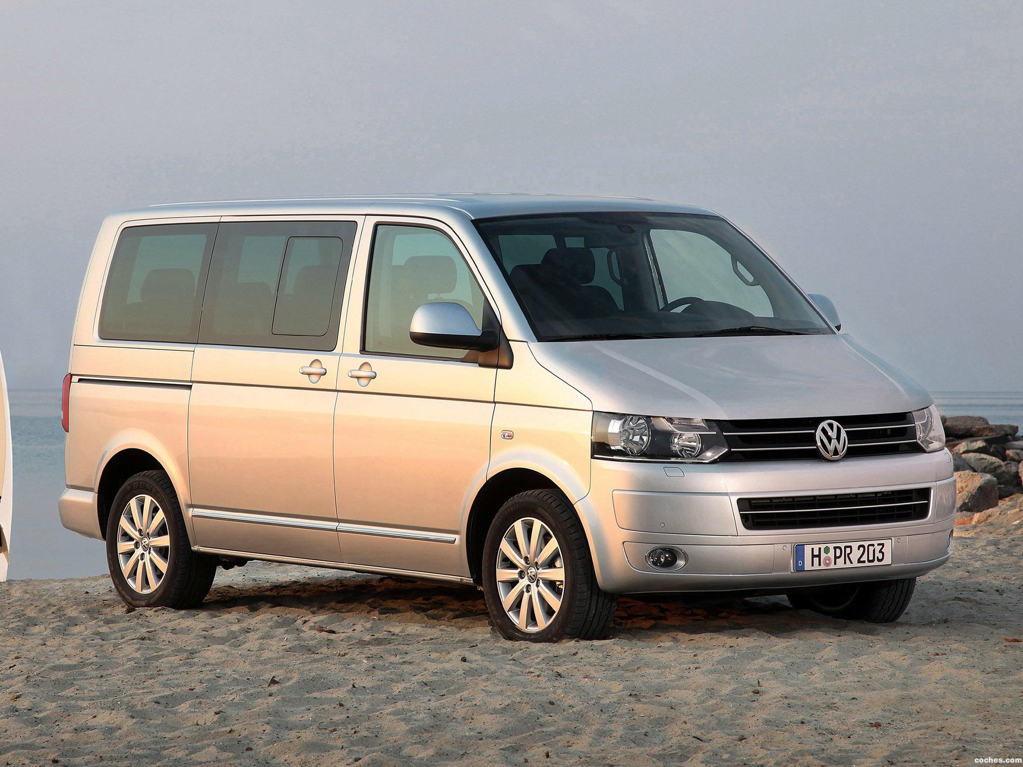 Foto 2 de Volkswagen Transporter T5 Facelift 2009