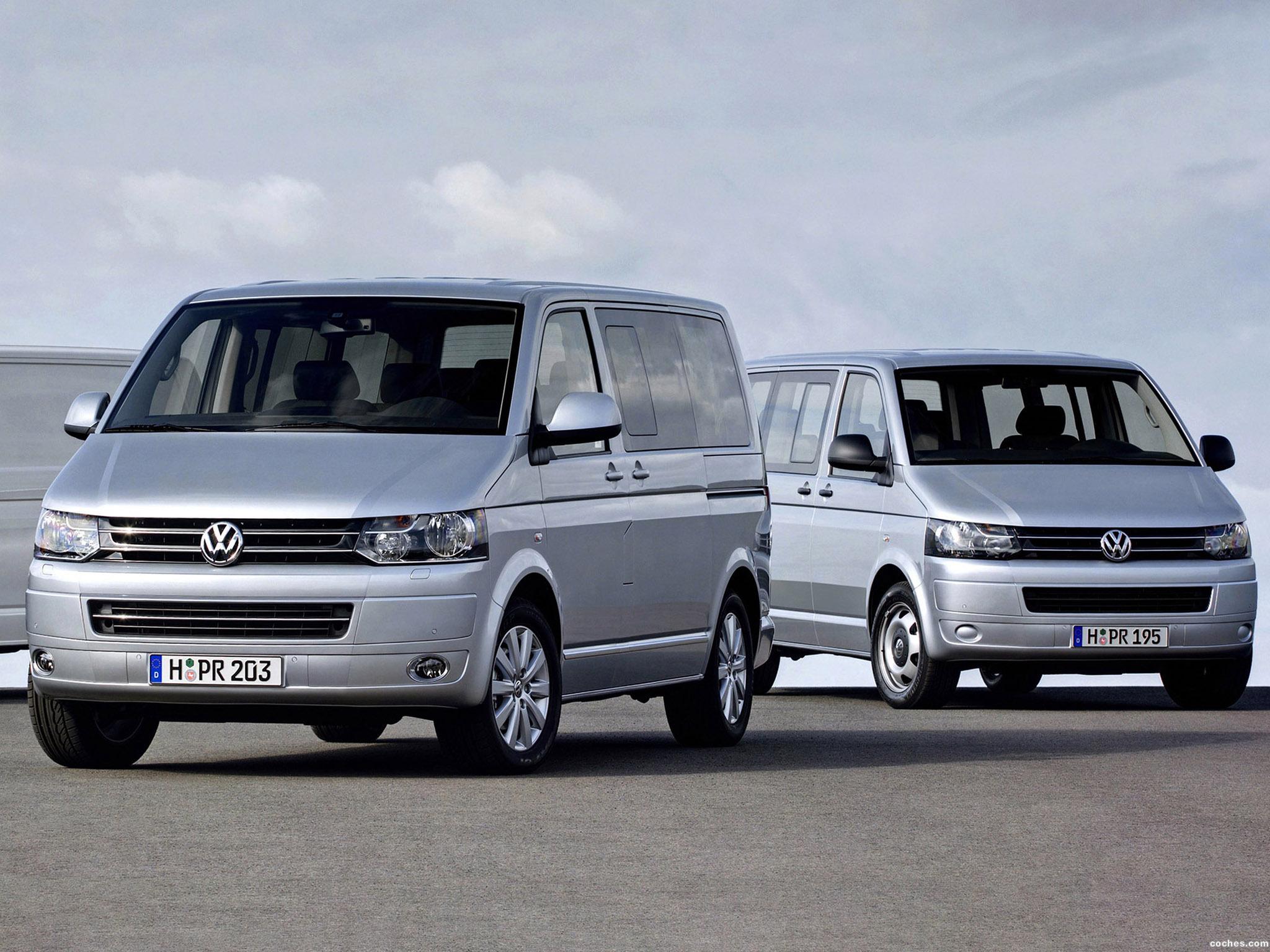 Foto 1 de Volkswagen Transporter T5 Facelift 2009