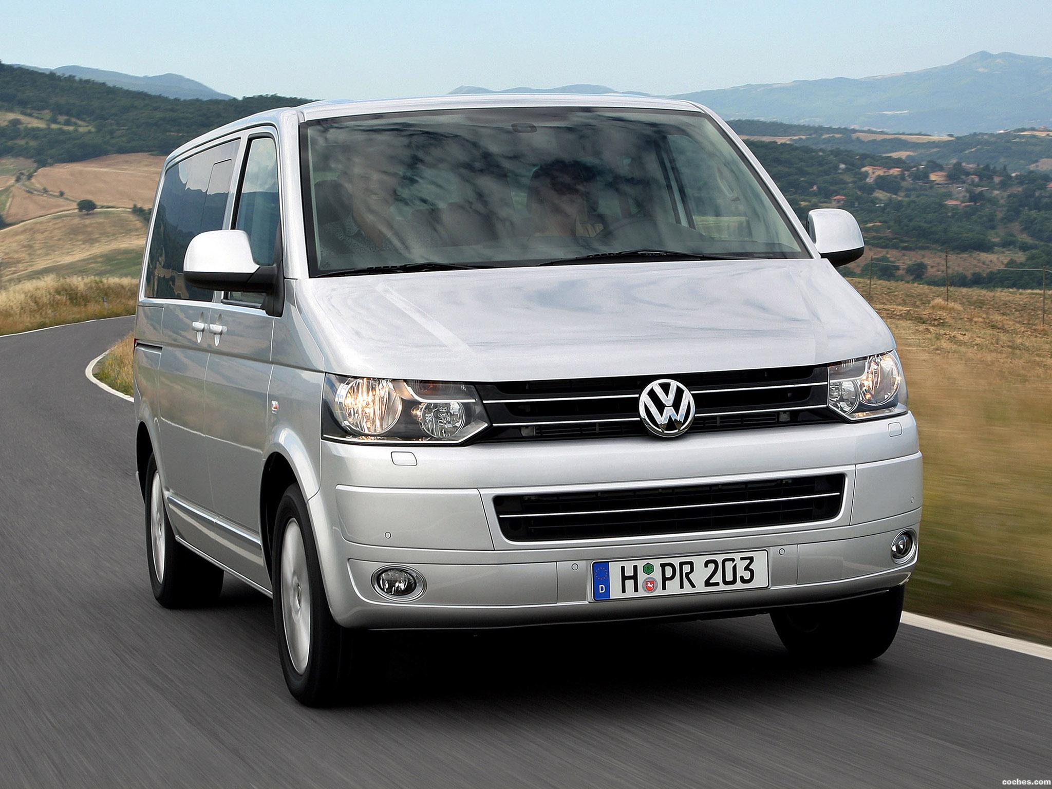 Foto 0 de Volkswagen Transporter T5 Facelift 2009