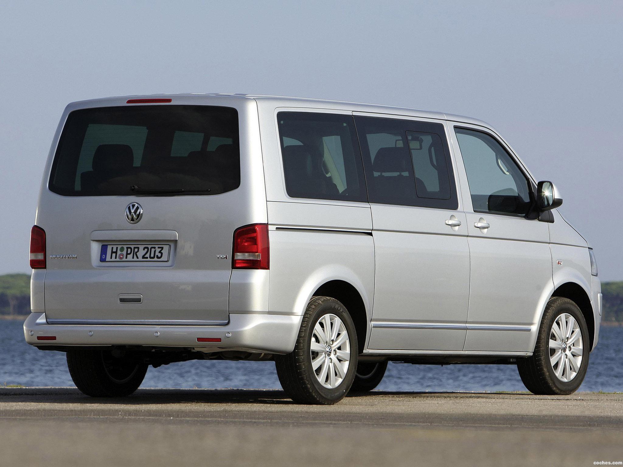 Foto 12 de Volkswagen Transporter T5 Multivan Facelift 2009