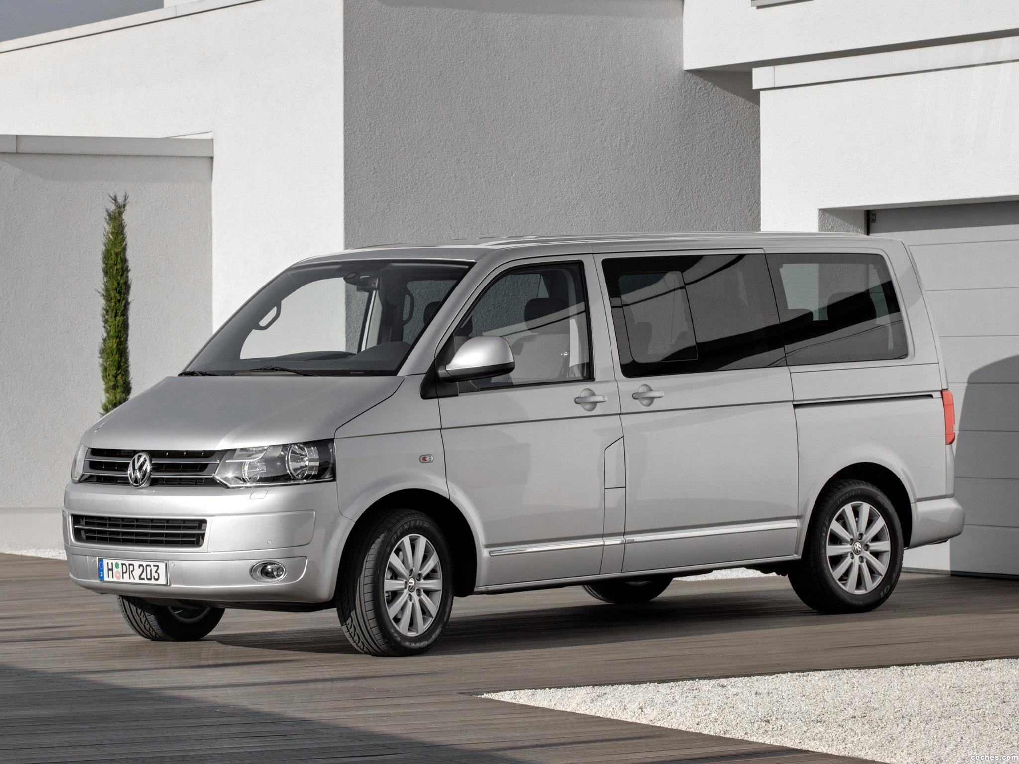 Foto 9 de Volkswagen Transporter T5 Multivan Facelift 2009