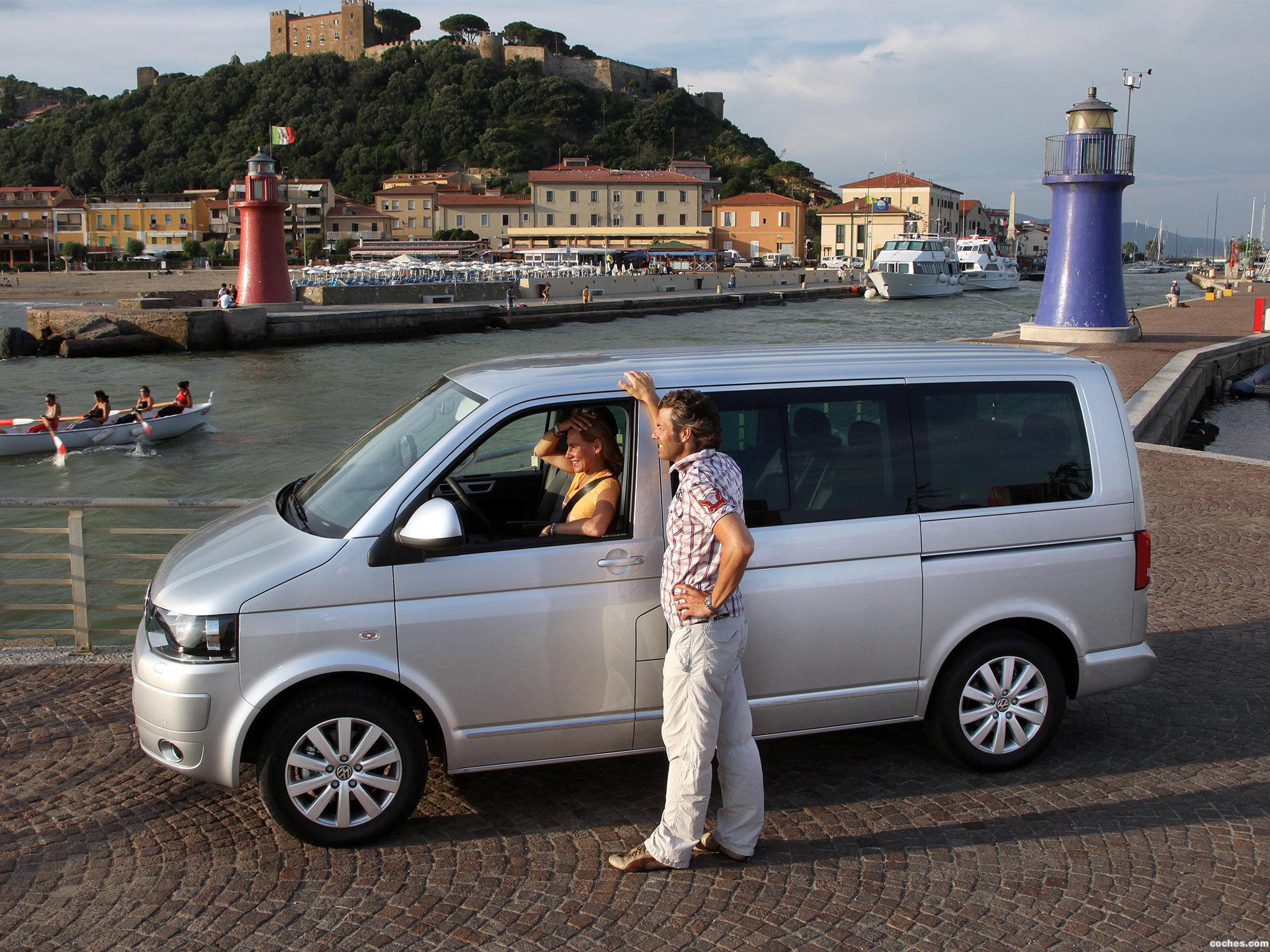 Foto 7 de Volkswagen Transporter T5 Multivan Facelift 2009