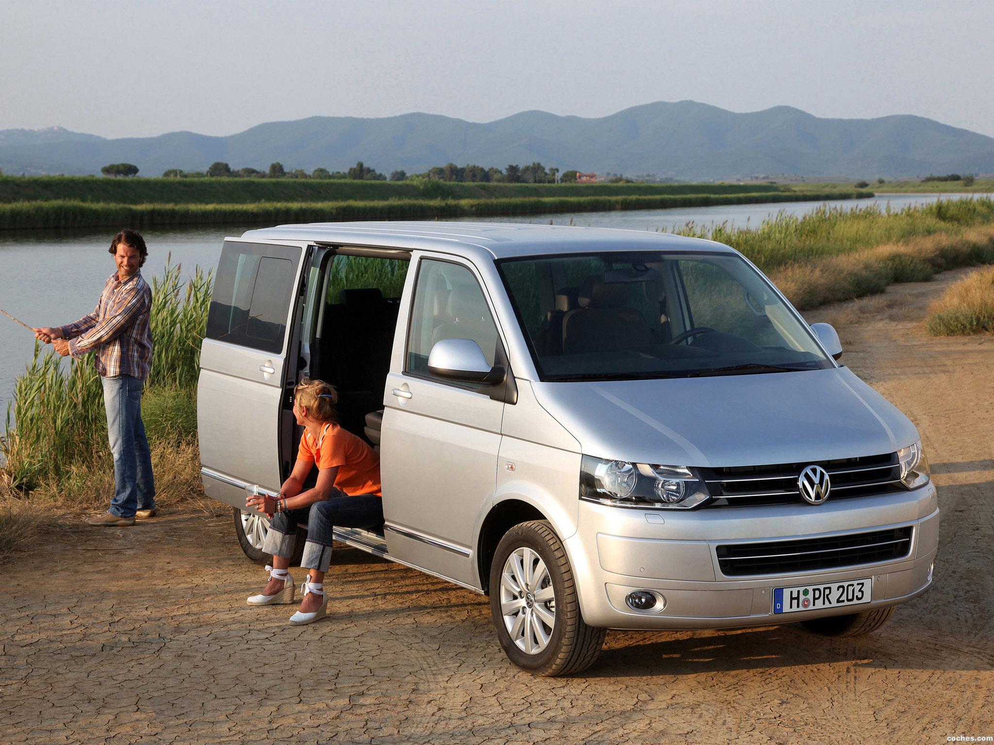 Foto 4 de Volkswagen Transporter T5 Multivan Facelift 2009