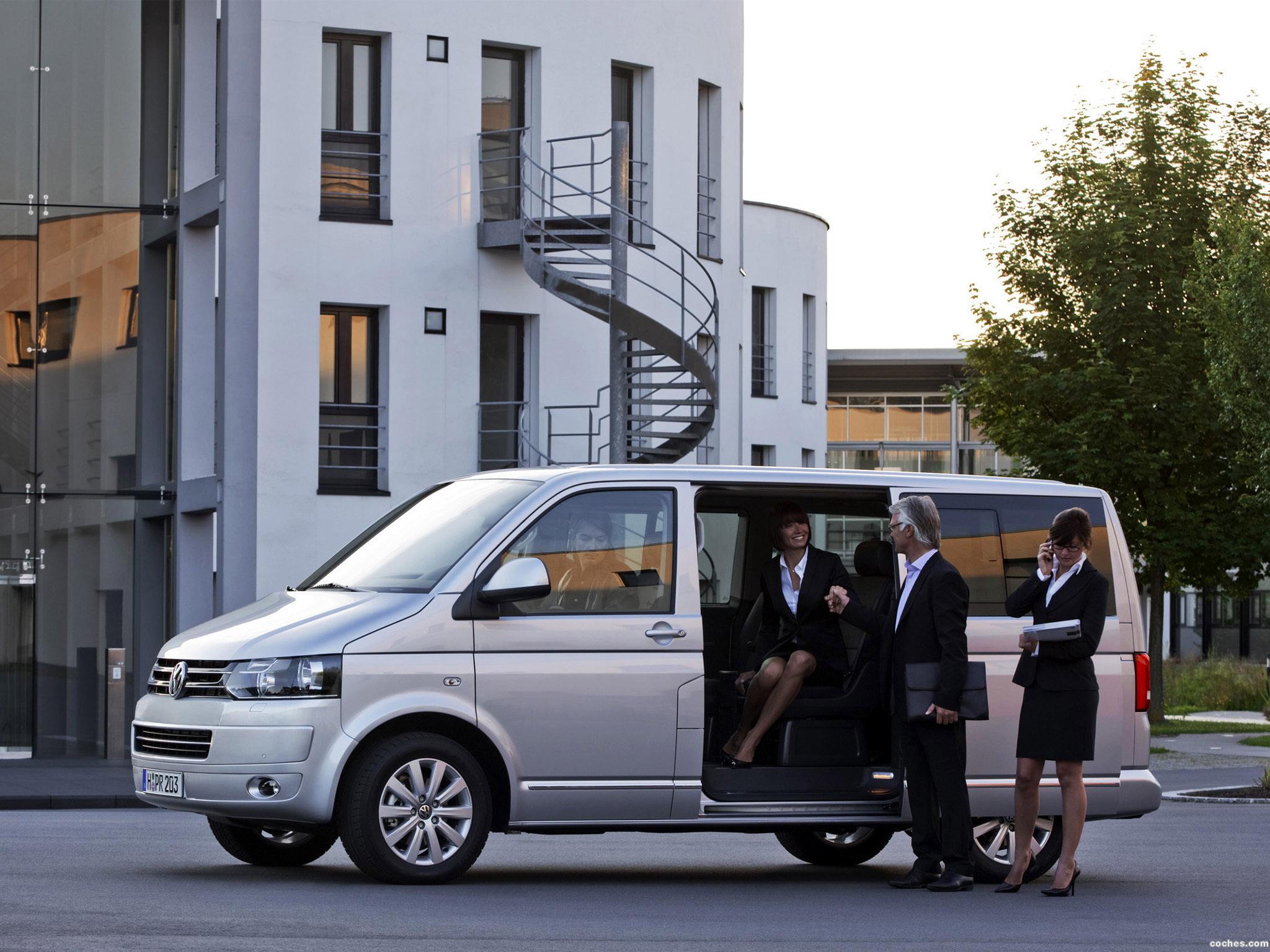 Foto 3 de Volkswagen Transporter T5 Multivan Facelift 2009