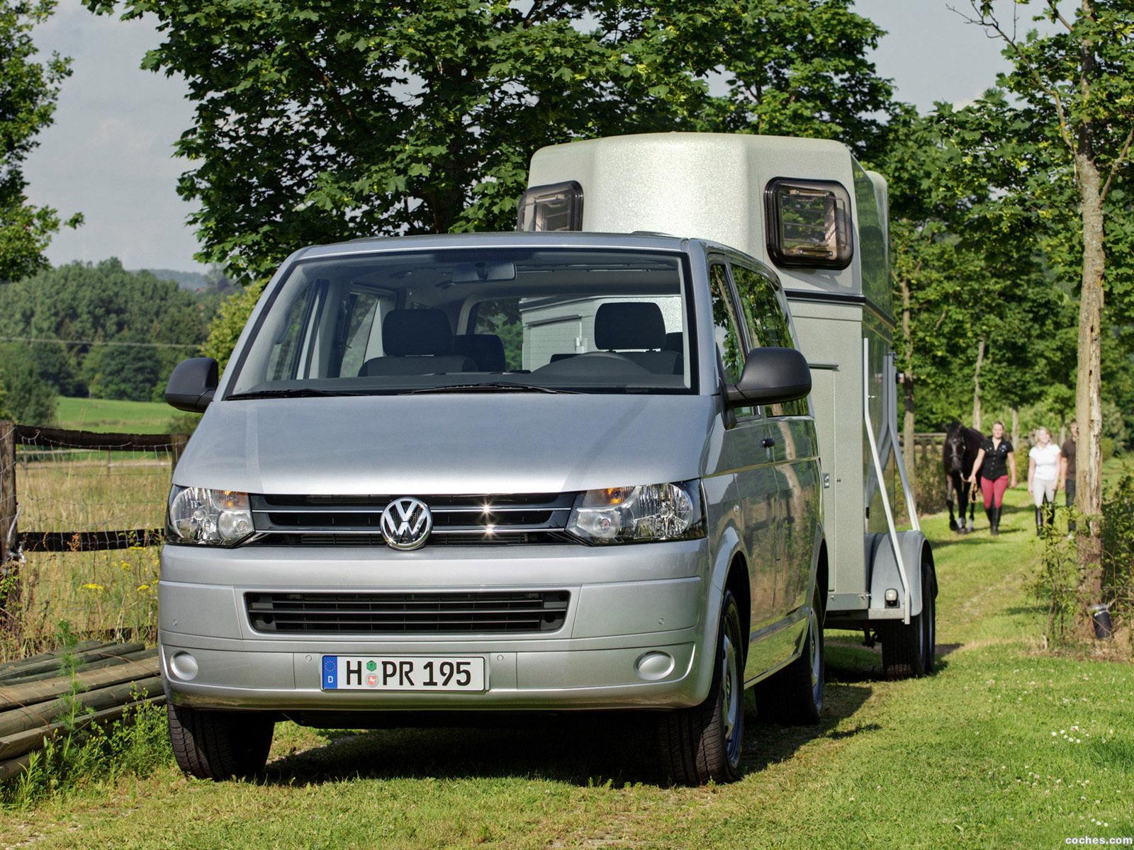 Foto 2 de Volkswagen Transporter T5 Multivan Facelift 2009