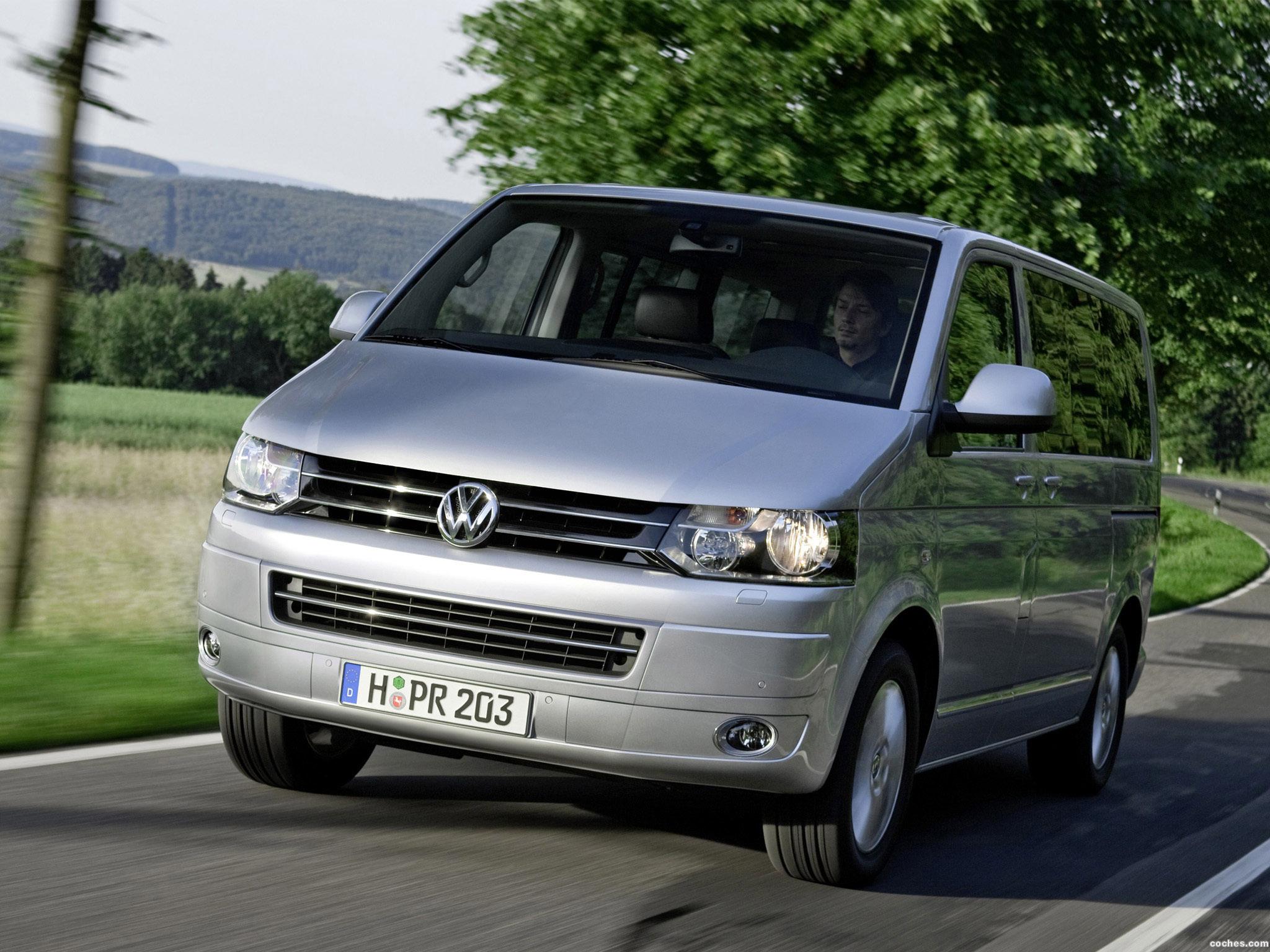 Foto 0 de Volkswagen Transporter T5 Multivan Facelift 2009