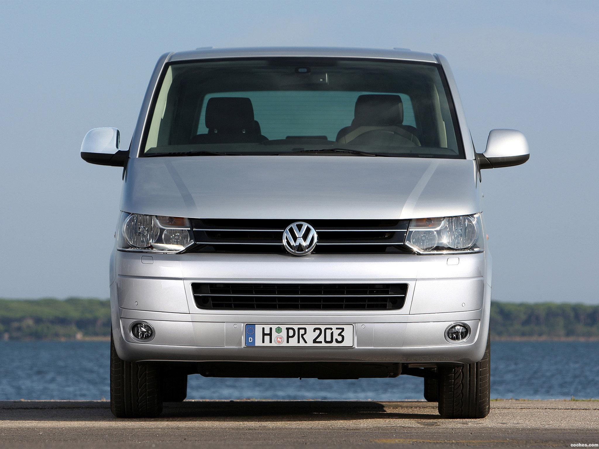 Foto 18 de Volkswagen Transporter T5 Multivan Facelift 2009