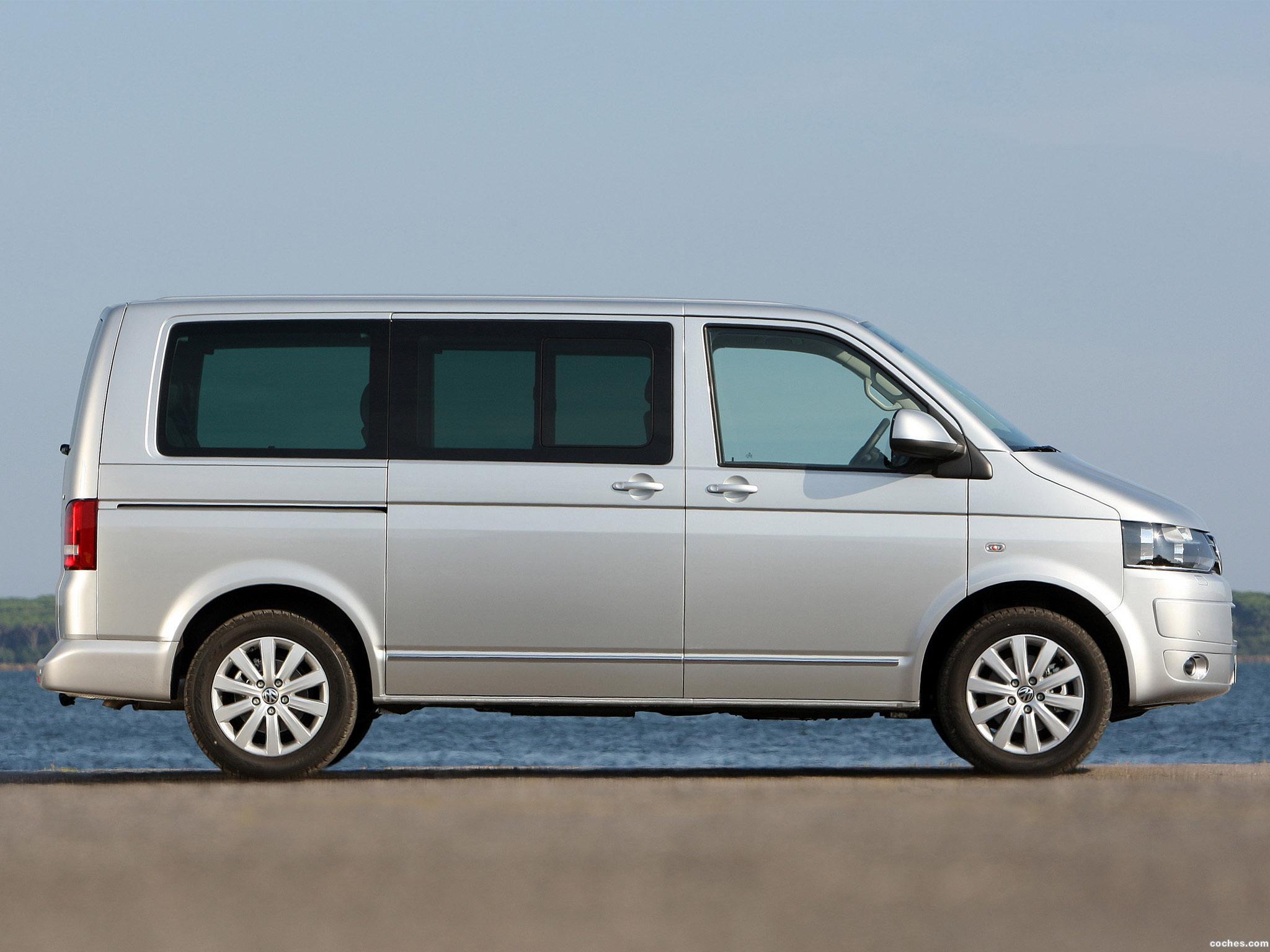 Foto 17 de Volkswagen Transporter T5 Multivan Facelift 2009