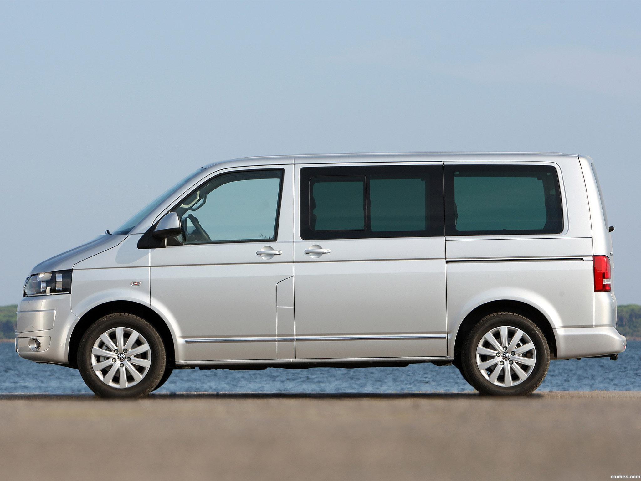 Foto 16 de Volkswagen Transporter T5 Multivan Facelift 2009