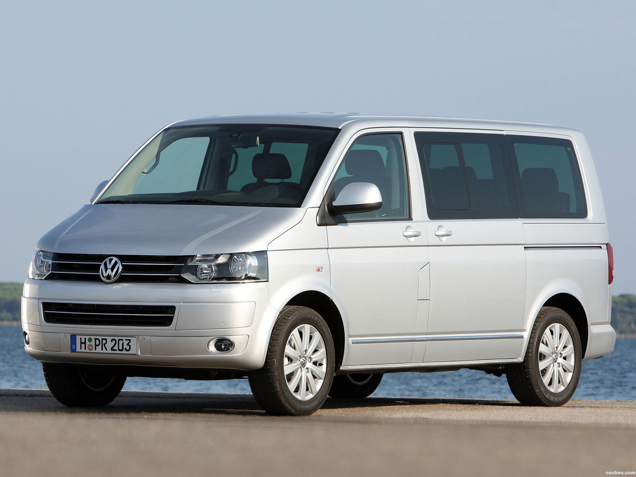 Foto 15 de Volkswagen Transporter T5 Multivan Facelift 2009