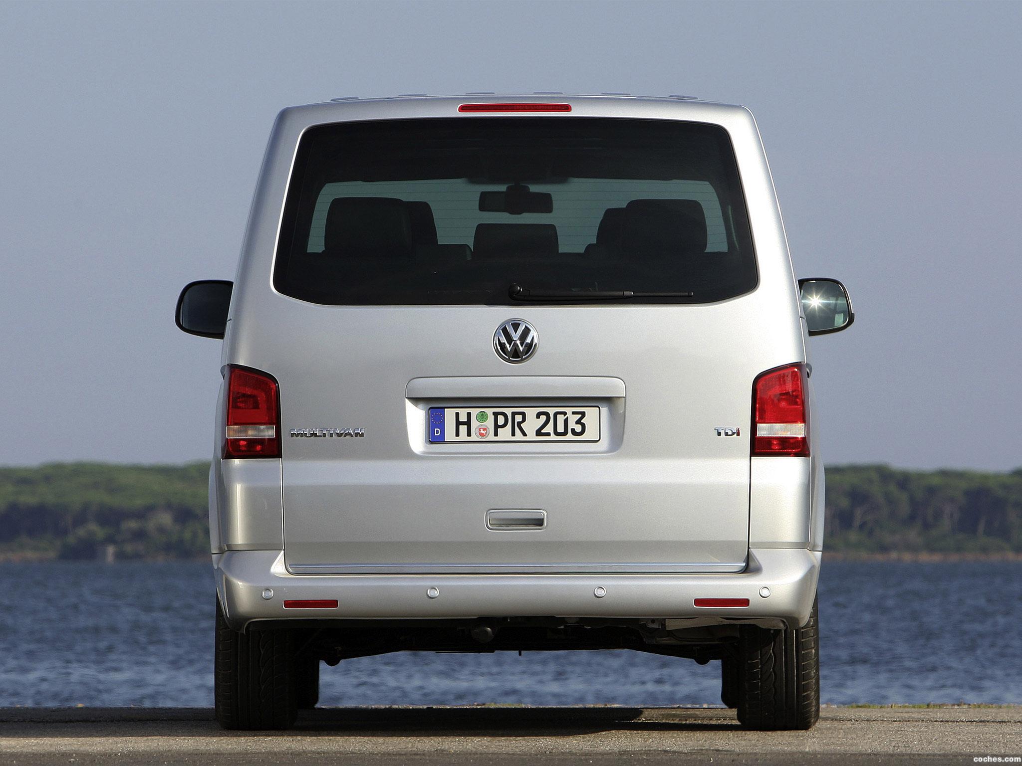 Foto 13 de Volkswagen Transporter T5 Multivan Facelift 2009