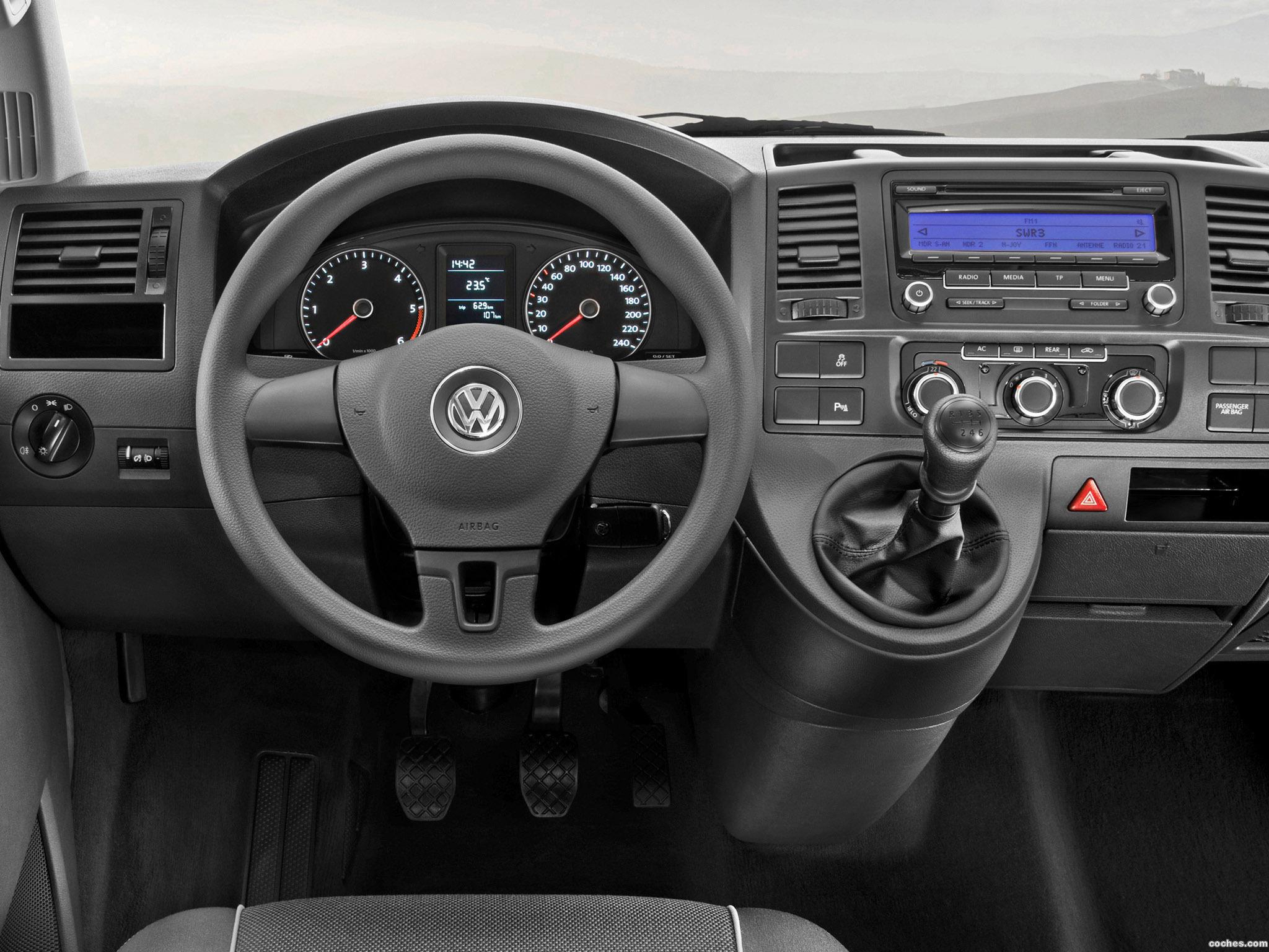 Foto 6 de Volkswagen Transporter T5 Van Facelift 2009