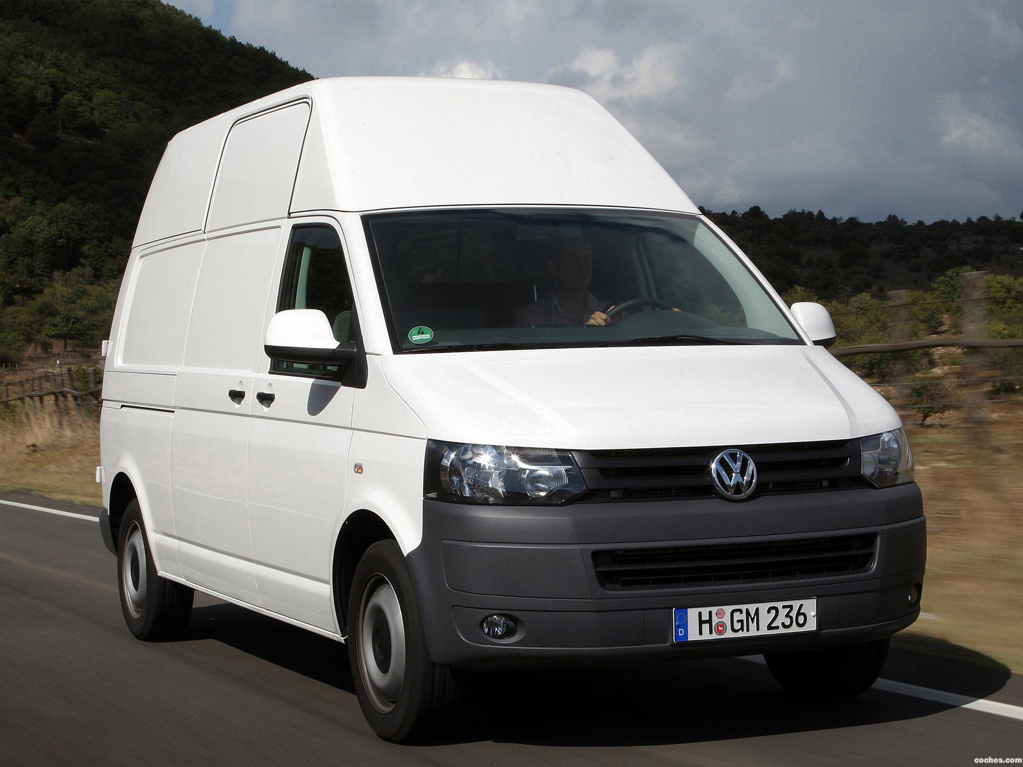 Foto 0 de Volkswagen Transporter T5 Van High Roof 2009