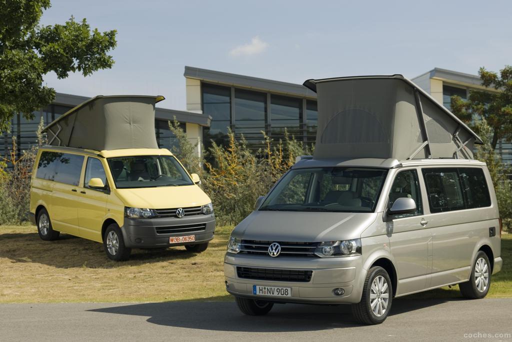 fotos de volkswagen transporter t5 california 2011 foto 3. Black Bedroom Furniture Sets. Home Design Ideas