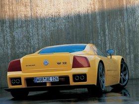 Ver foto 2 de Volkswagen W12 Syncro Concept 1998