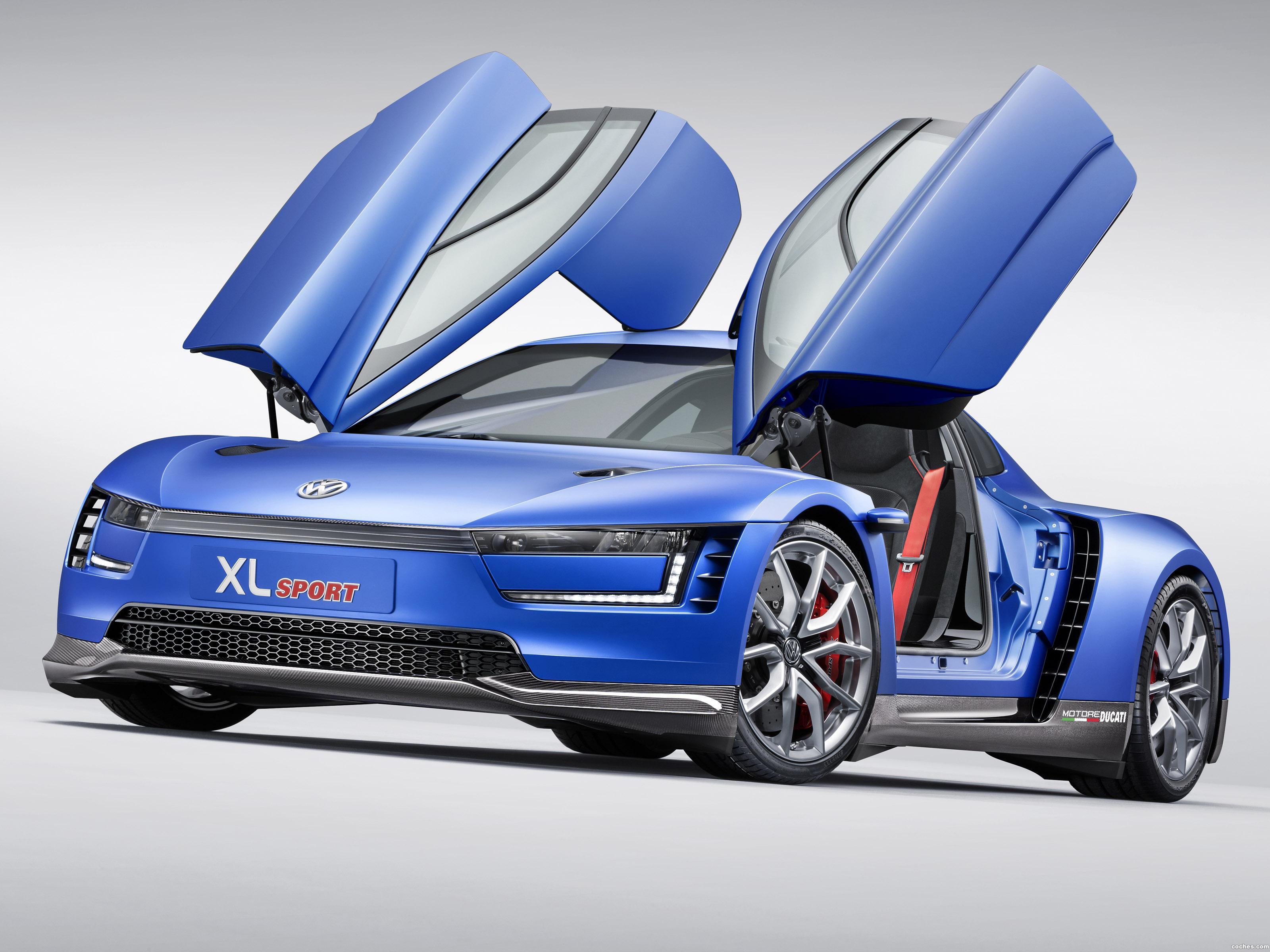 Foto 0 de Volkswagen XL Sport Concept 2014