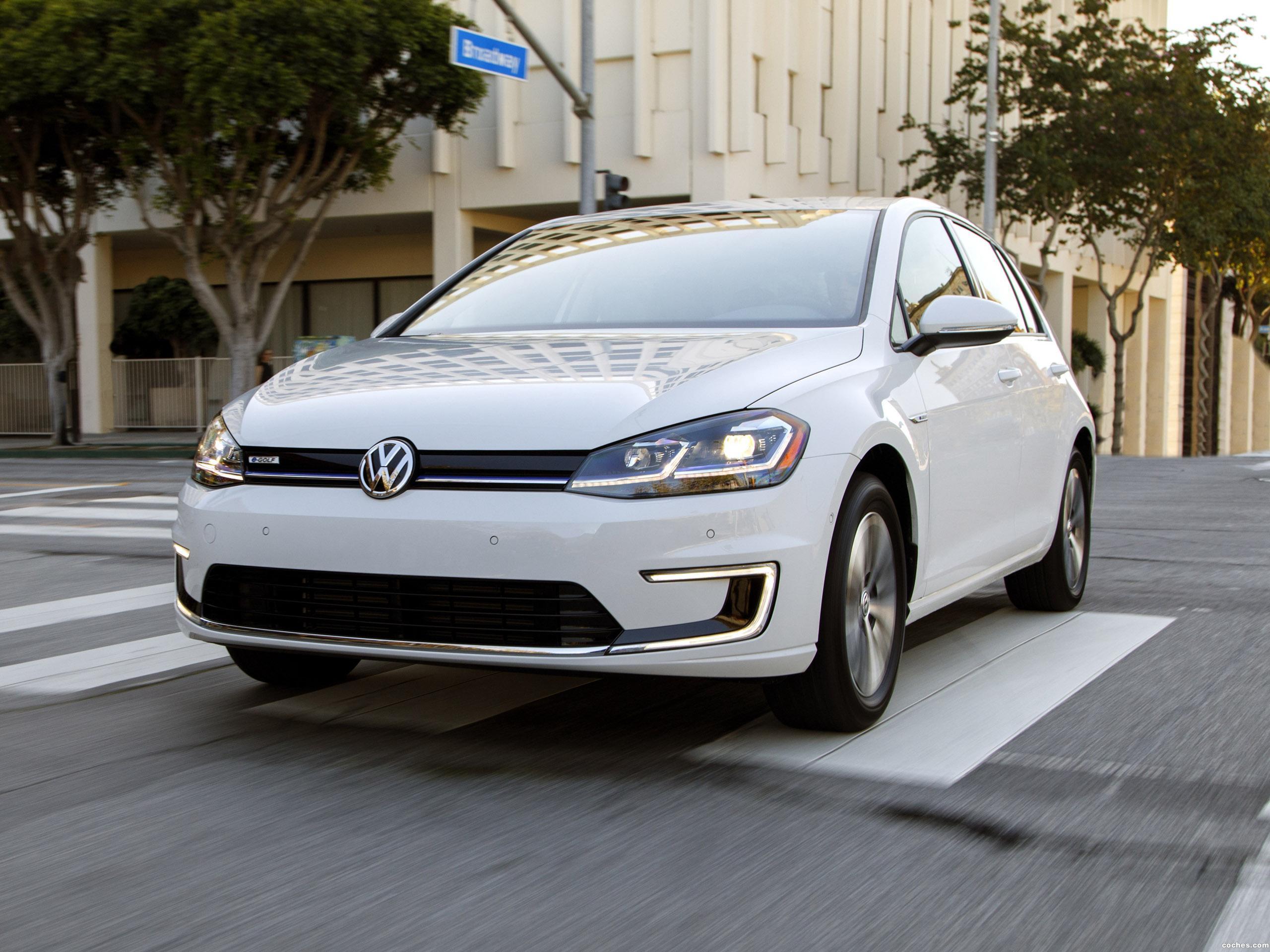 Foto 10 de Volkswagen e-Golf USA  2017