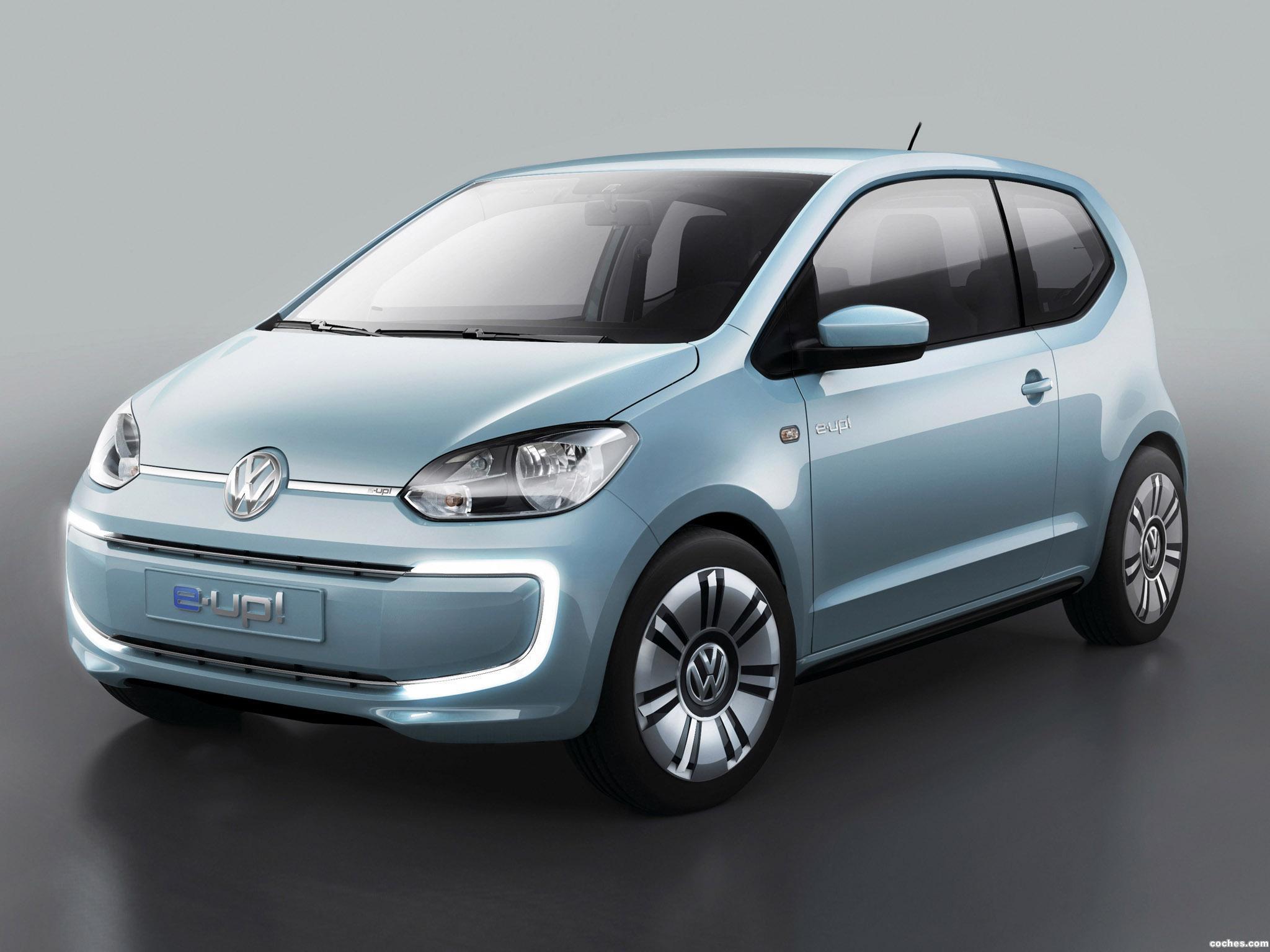 Foto 0 de Volkswagen e-Up! Concept 2011