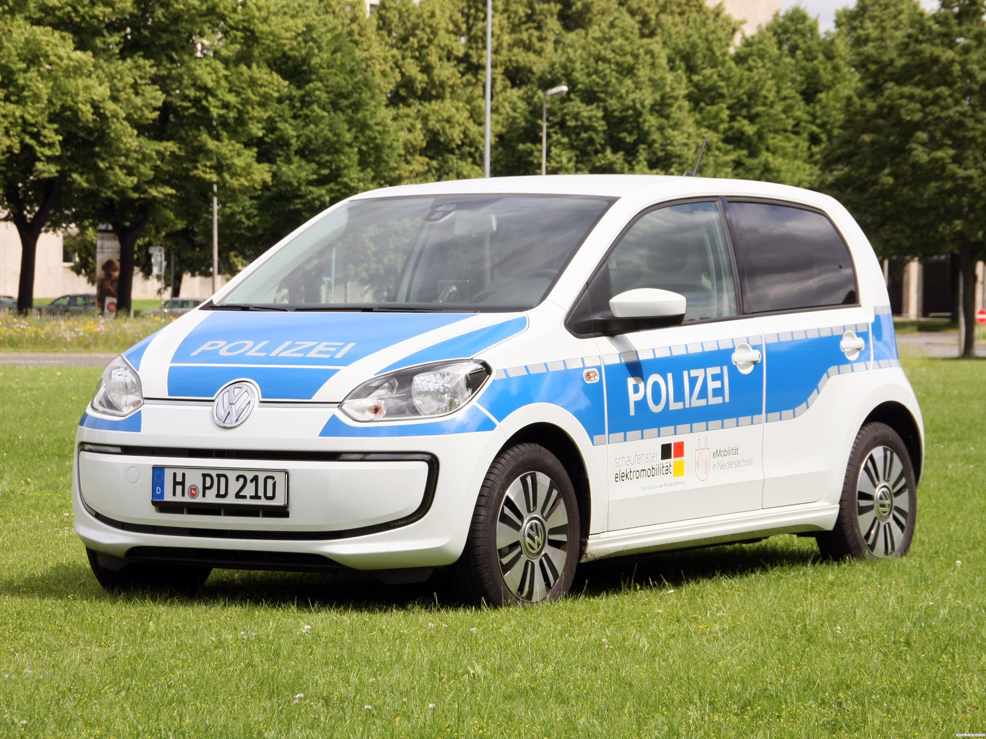 Foto 0 de Volkswagen e-Up! Polizei 2015