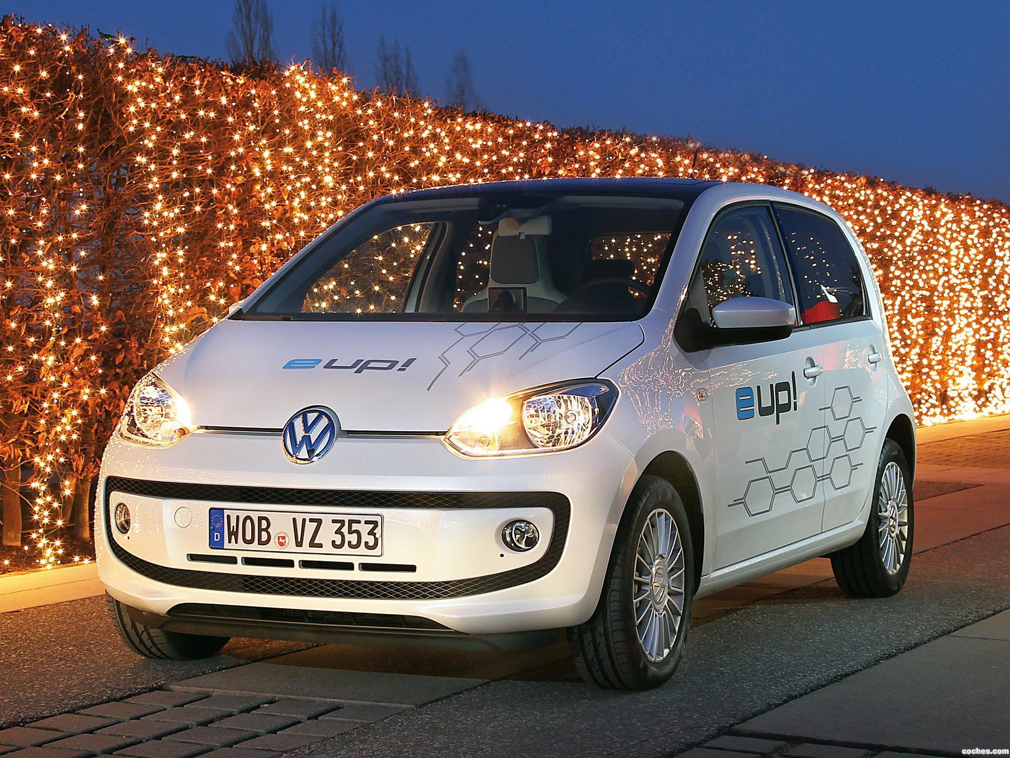 Foto 0 de Volkswagen e-Up! Concept 2012