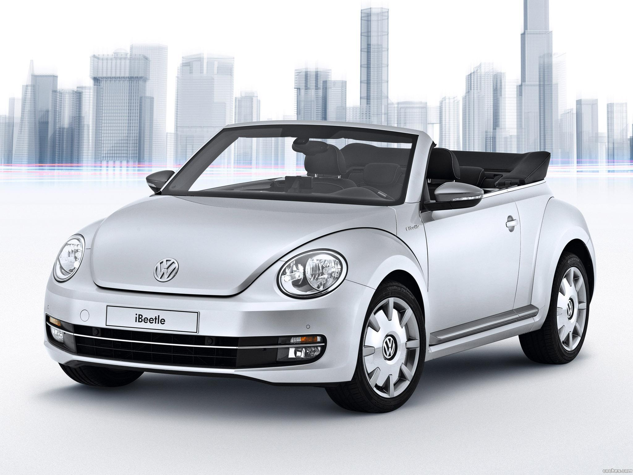 Foto 0 de Volkswagen iBeetle Cabriolet 2013