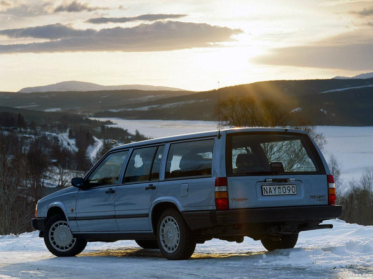 Foto 1 de Volvo 740 Combi 1983