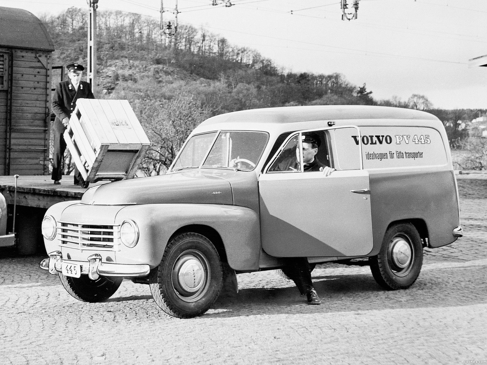 Foto 0 de Volvo PV445 DS Duett 1958