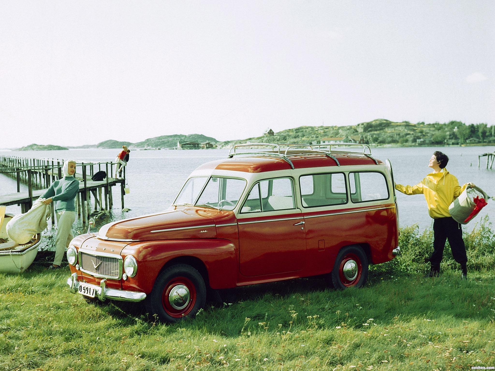 Foto 0 de Volvo PV445 PH Duett 1958