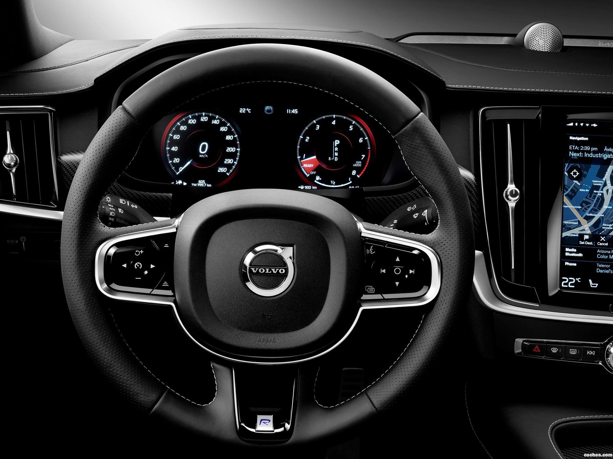Foto 9 de Volvo S90 T6 R Design 2016