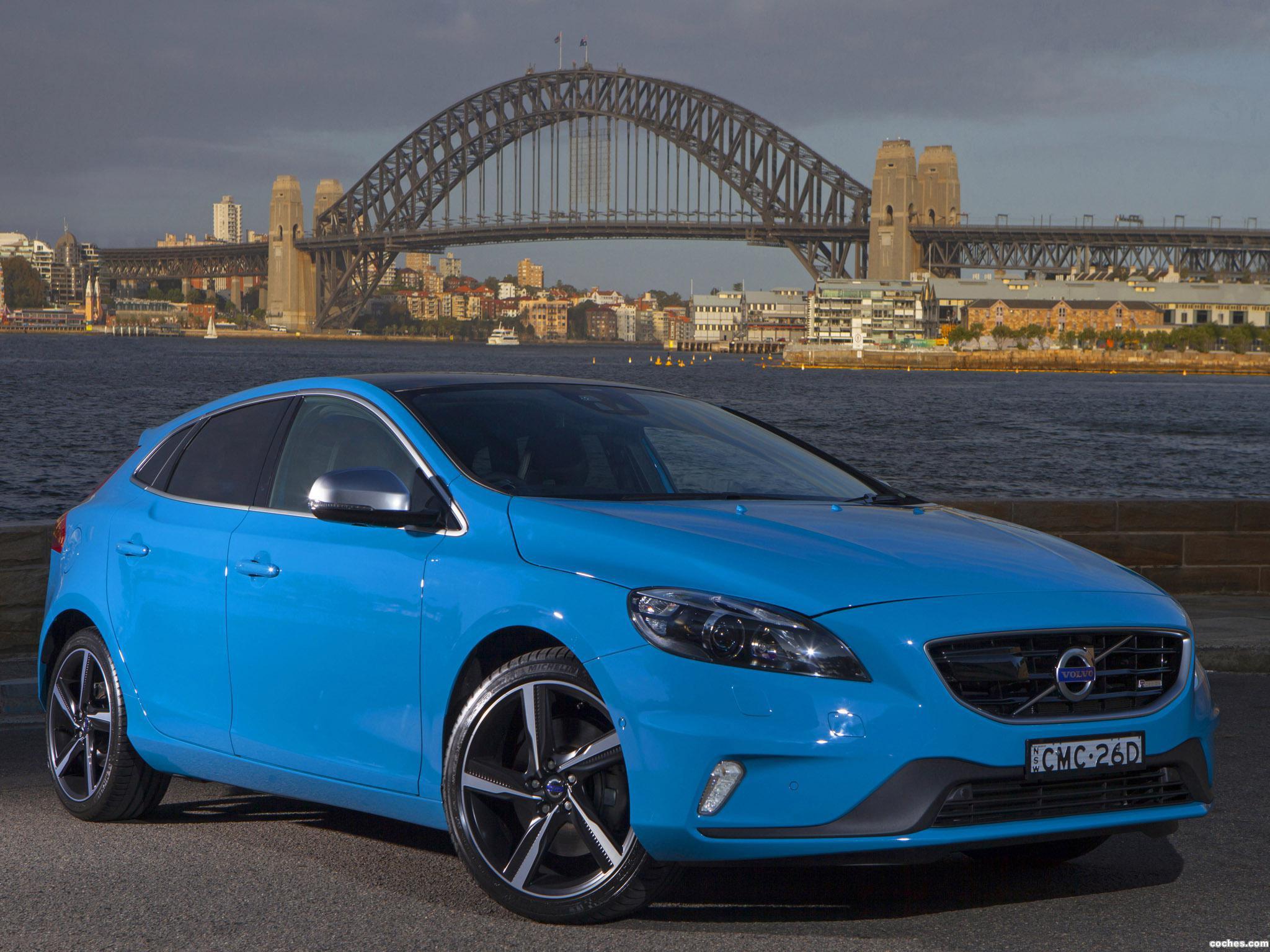Foto 3 de Volvo V40 R Design T5 Australia 2013