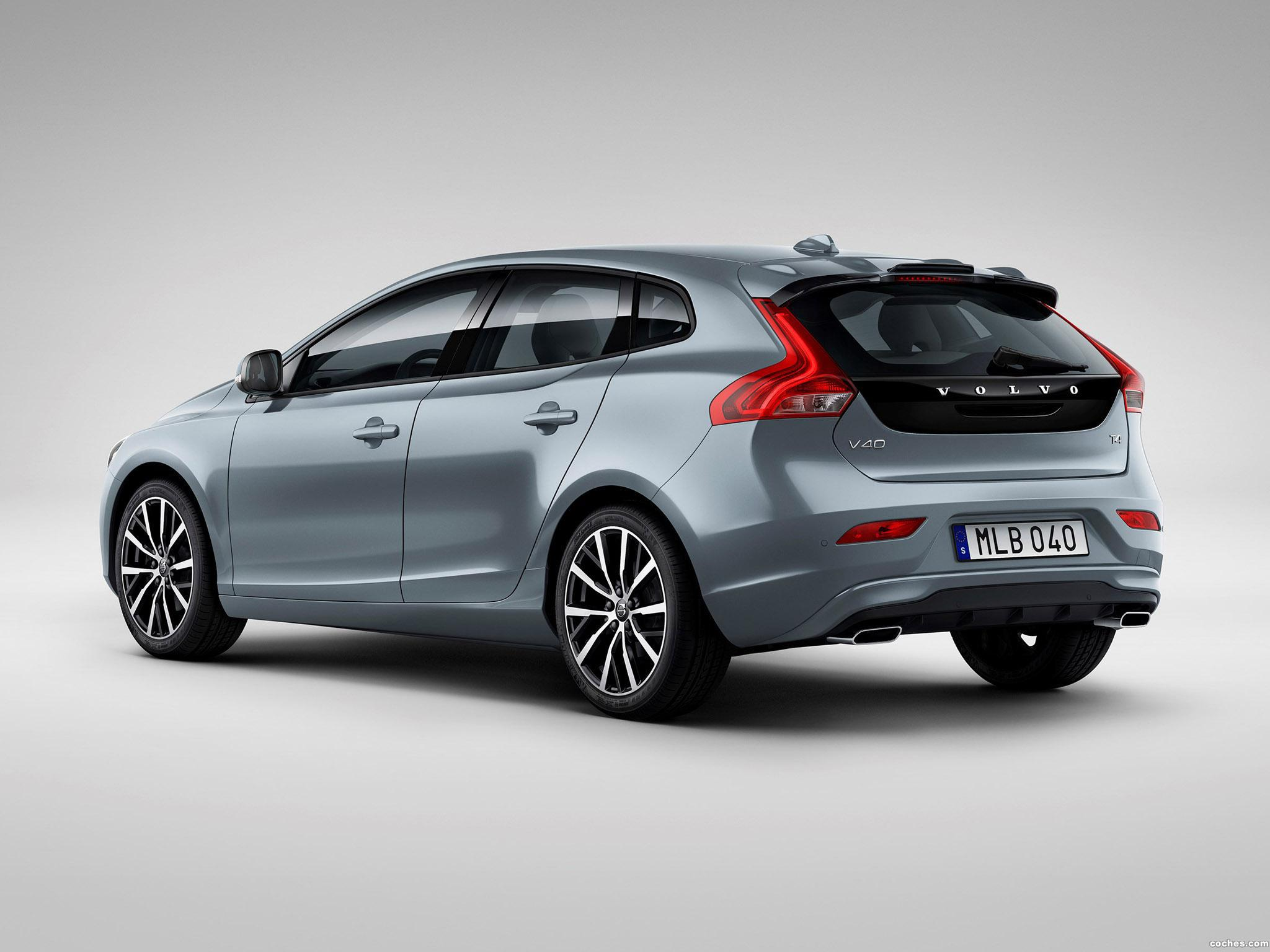 fotos de volvo v40 t4 momentum 2016 foto 9. Black Bedroom Furniture Sets. Home Design Ideas
