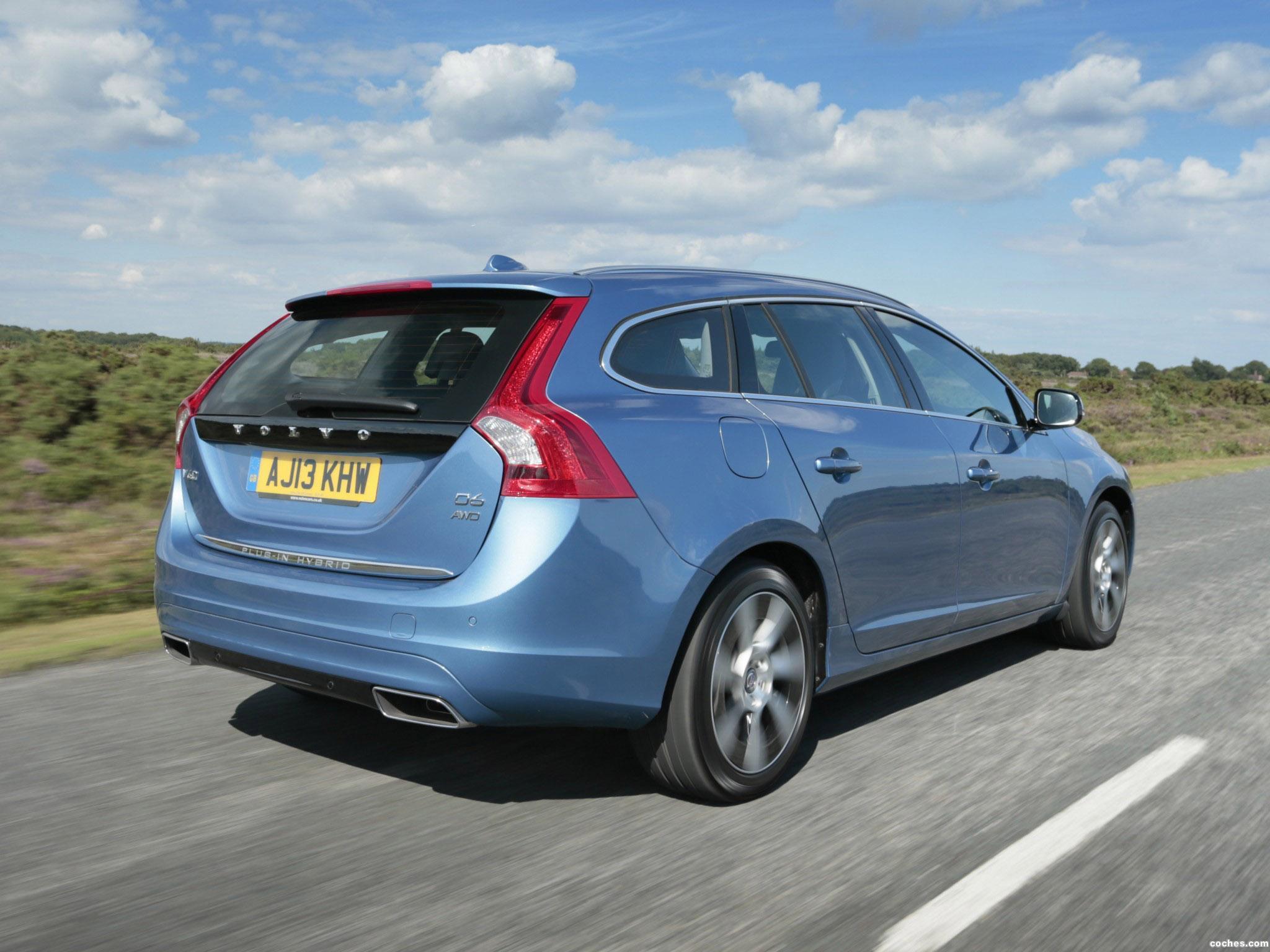 Foto 7 de Volvo V60 D6 Plug-in Hybrid UK 2013