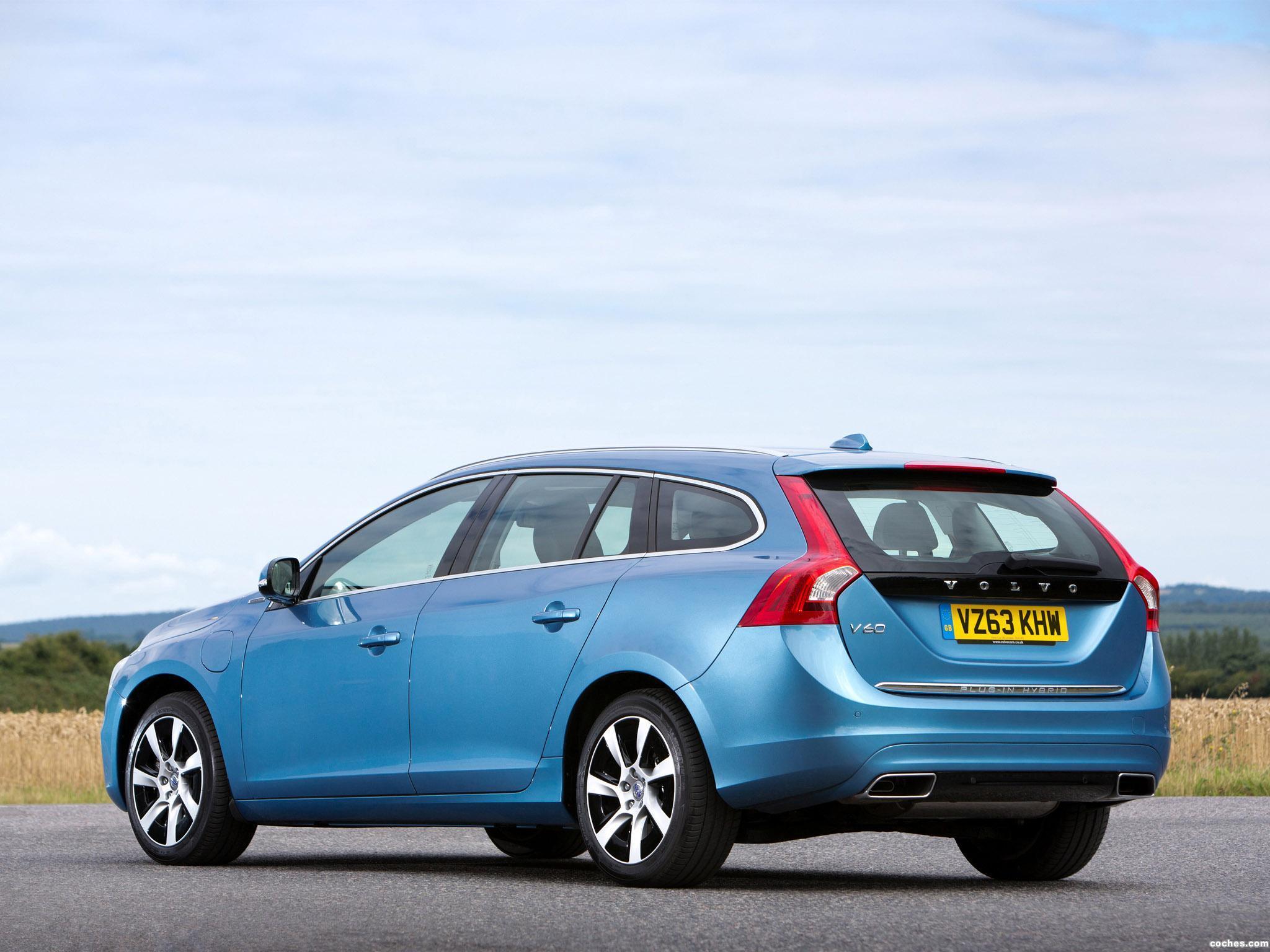 Foto 5 de Volvo V60 D6 Plug-in Hybrid UK 2013