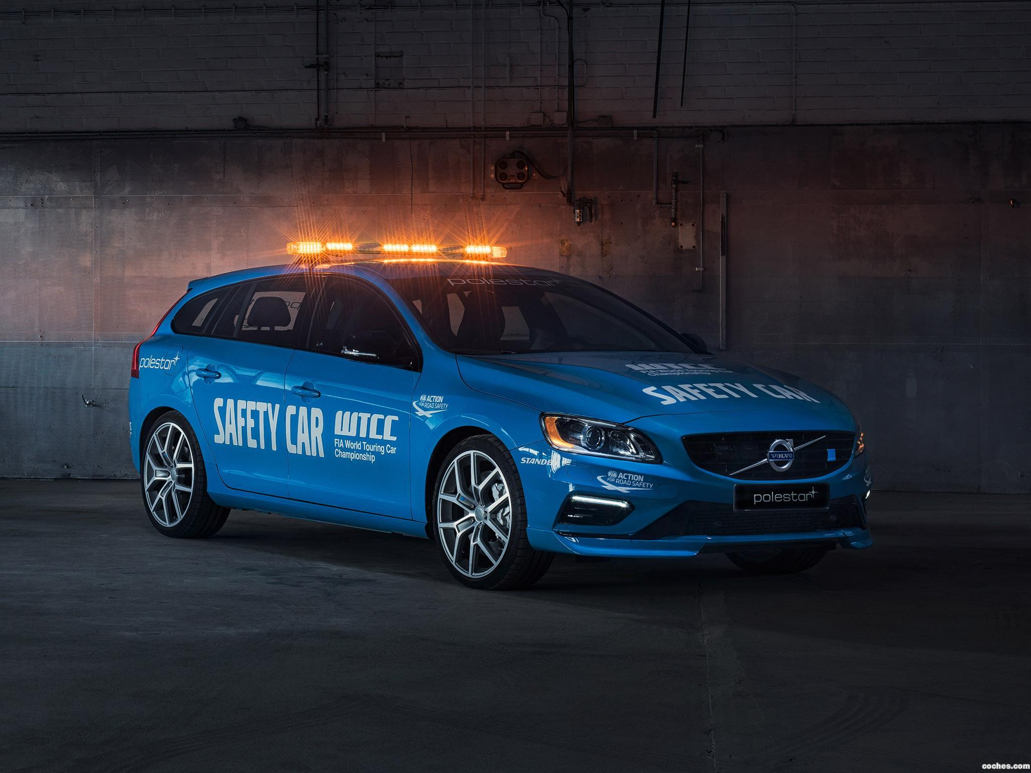 Foto 0 de Volvo V60 Polestar WTCC Safety Car 2016