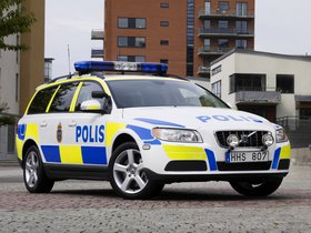 Fotos de Volvo V70 Police Car 2007
