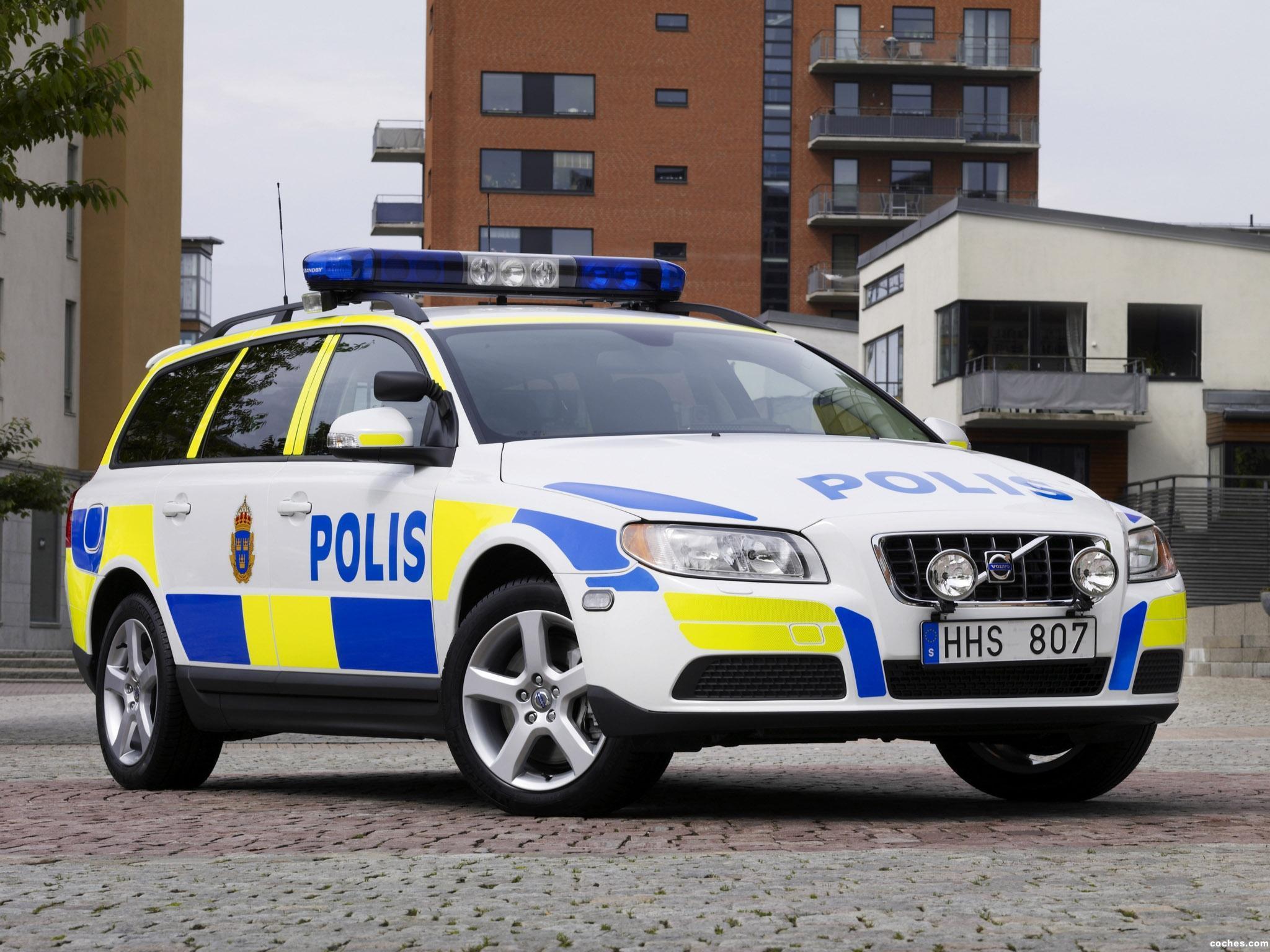 Foto 0 de Volvo V70 Police Car 2007